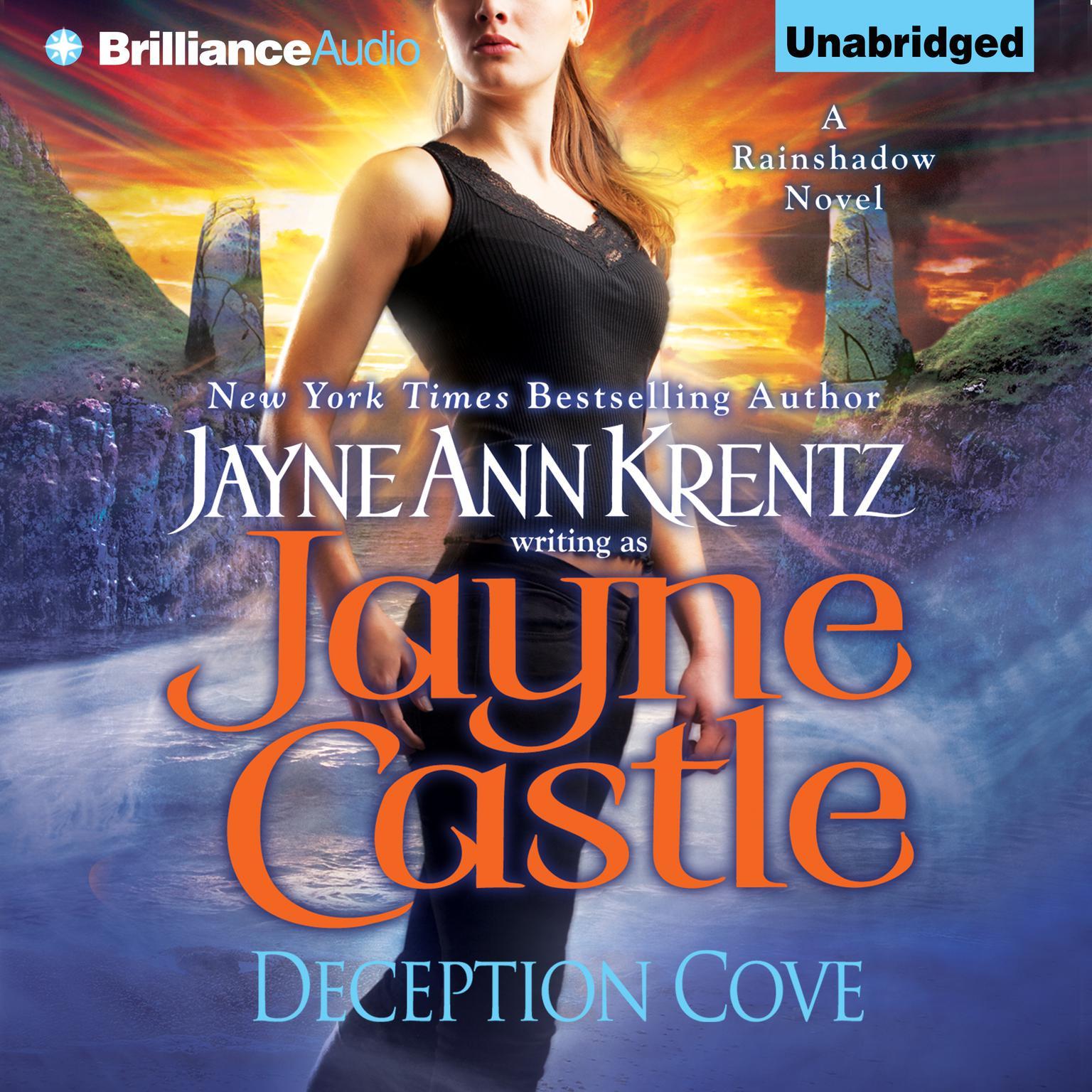 Printable Deception Cove Audiobook Cover Art