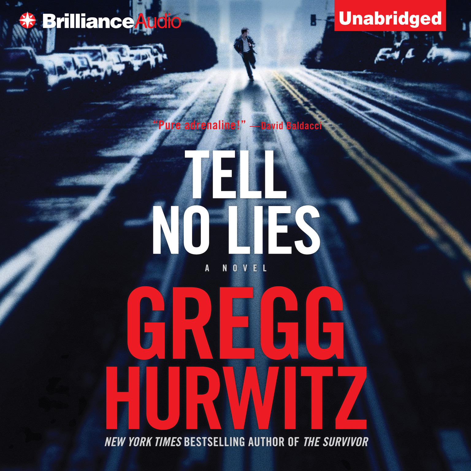 Printable Tell No Lies Audiobook Cover Art