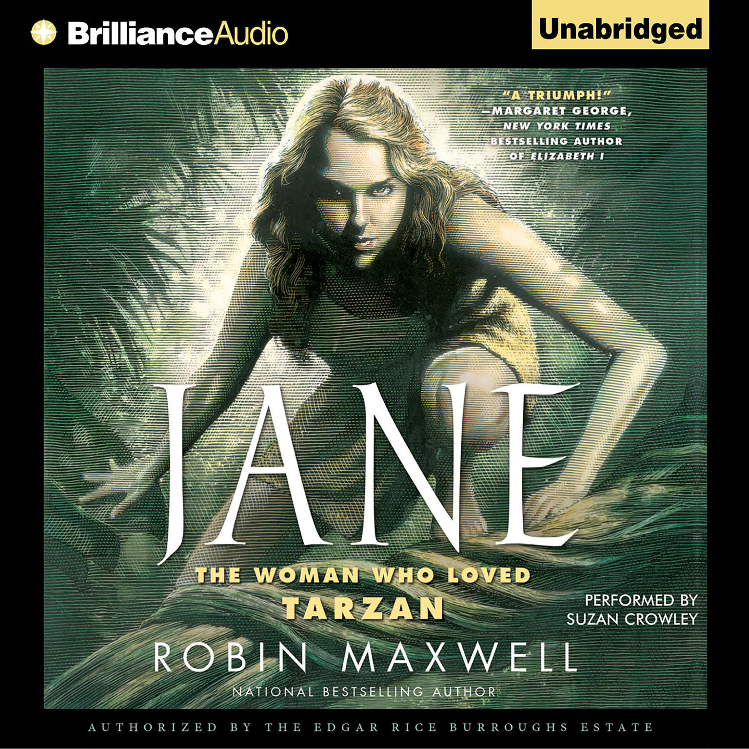 Printable Jane: The Woman Who Loved Tarzan Audiobook Cover Art