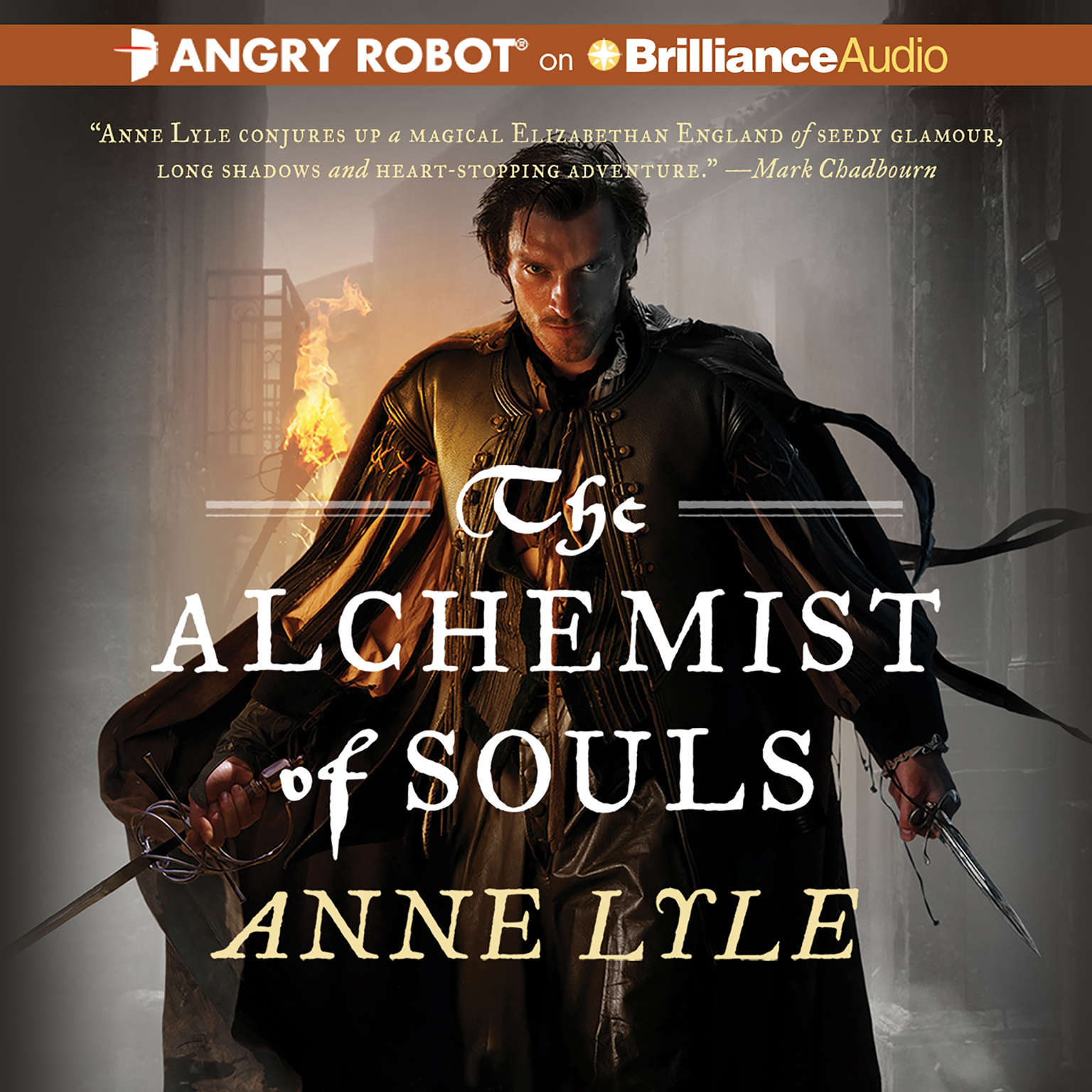 Printable The Alchemist of Souls Audiobook Cover Art