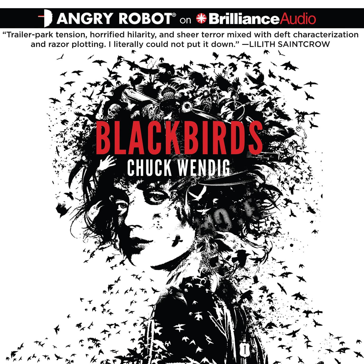 Printable Blackbirds Audiobook Cover Art