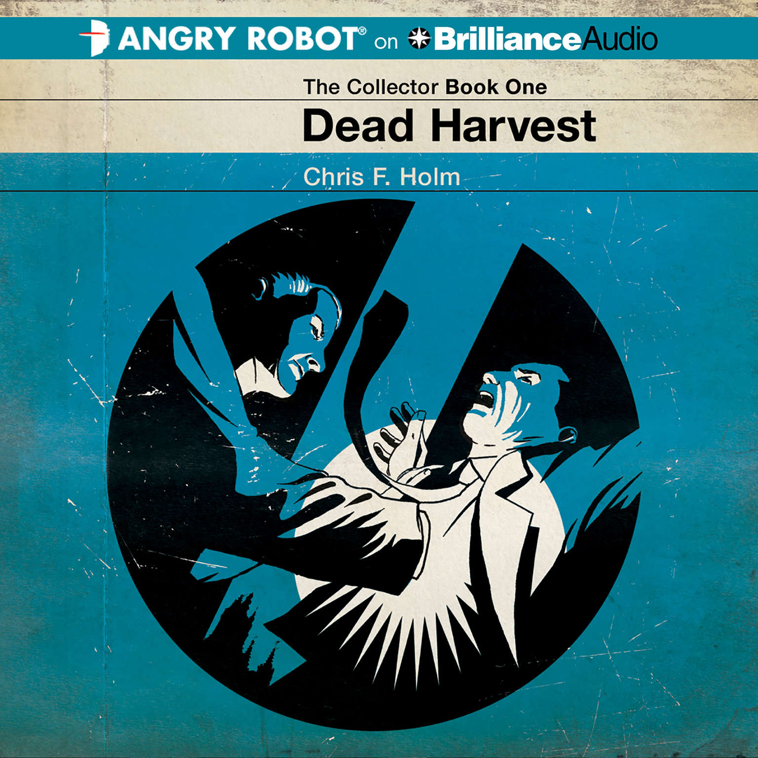 Printable Dead Harvest Audiobook Cover Art