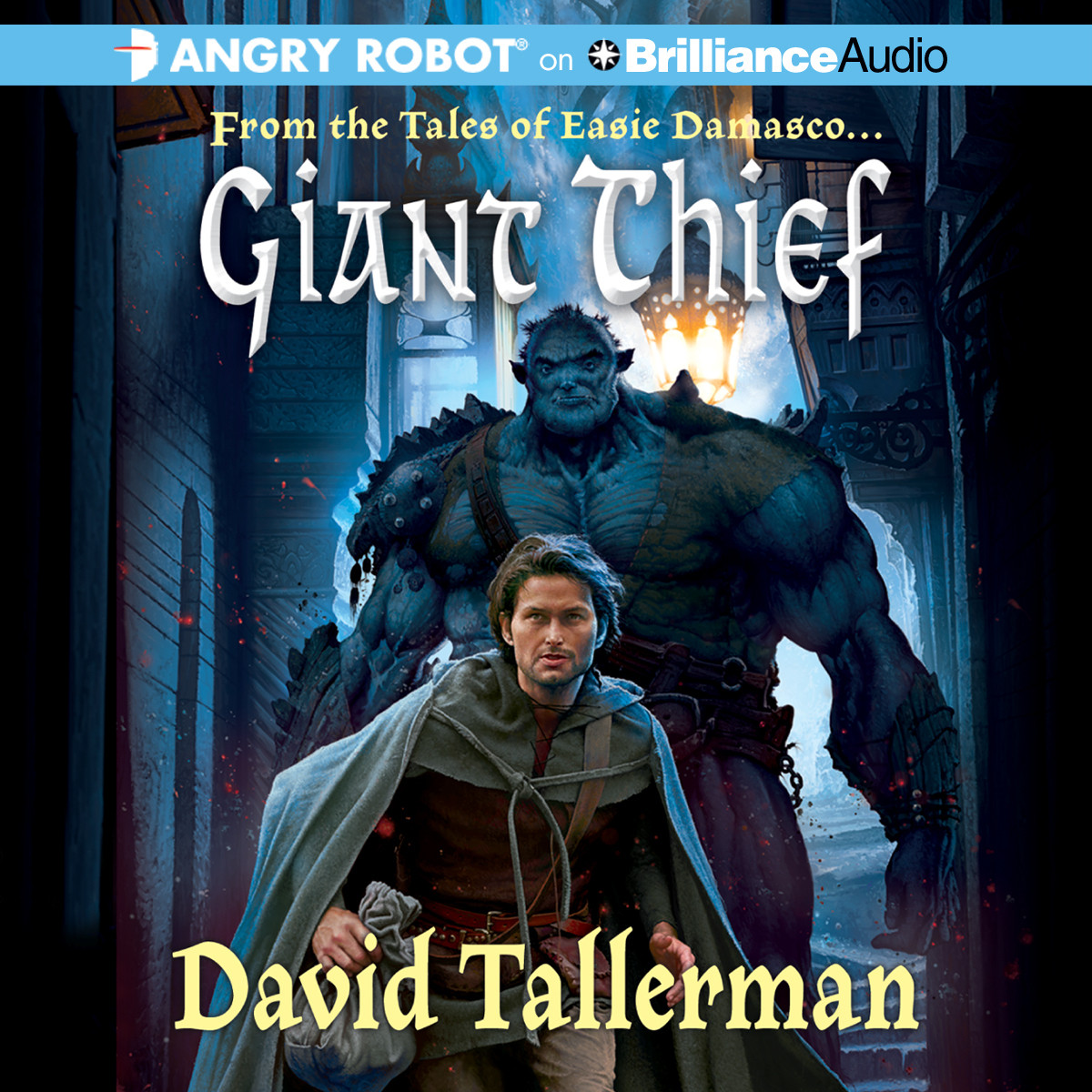 Printable Giant Thief Audiobook Cover Art