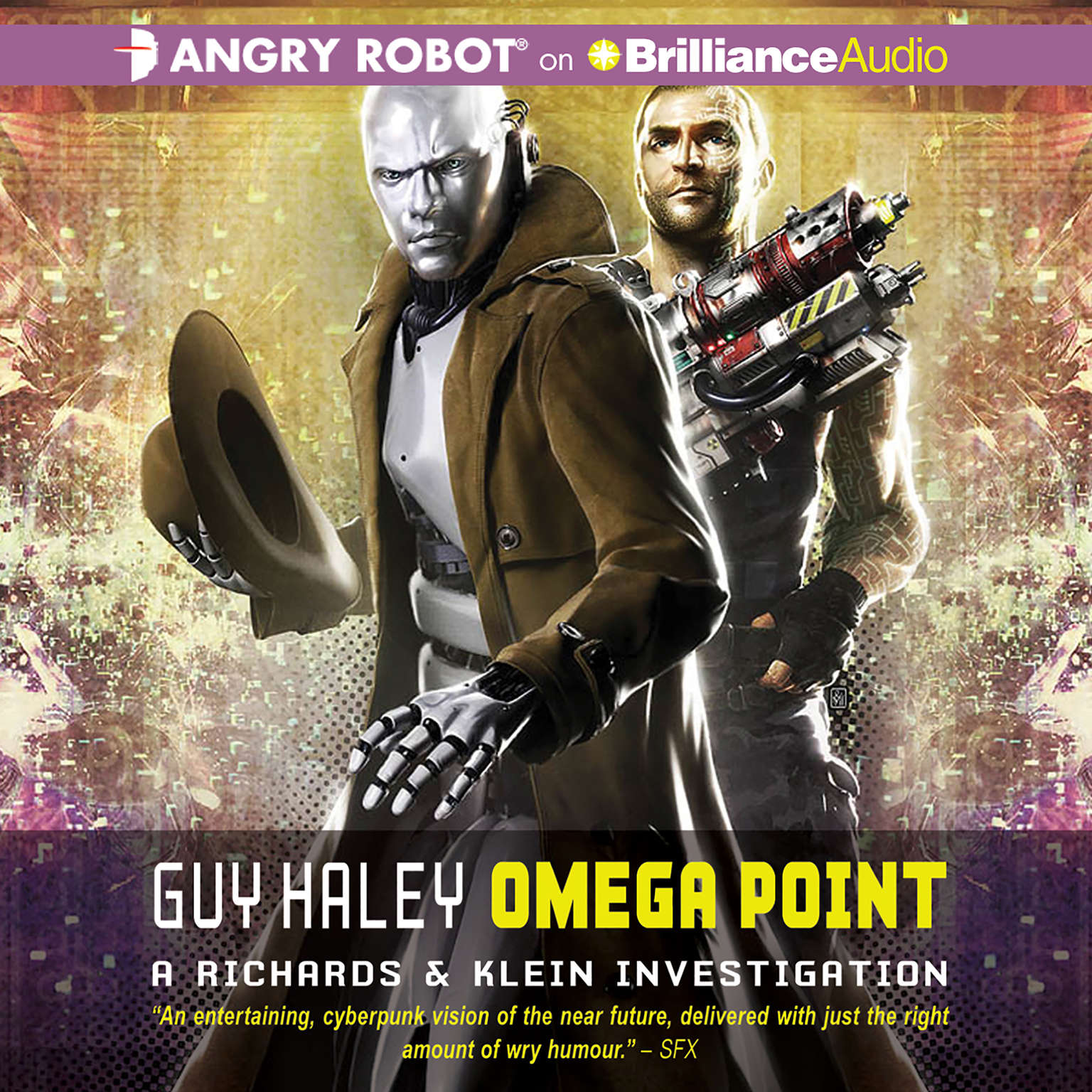 Printable Omega Point Audiobook Cover Art