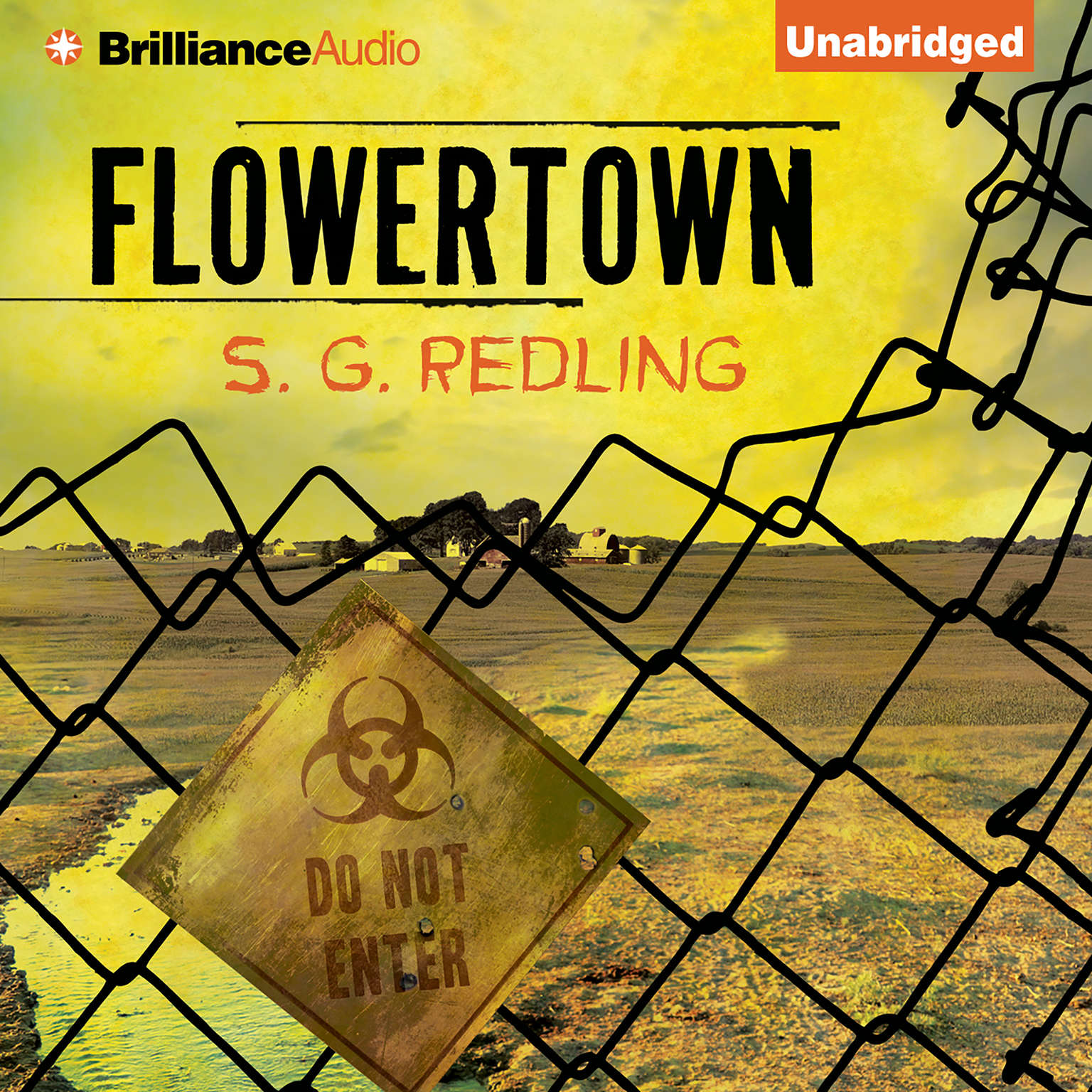 Printable Flowertown Audiobook Cover Art