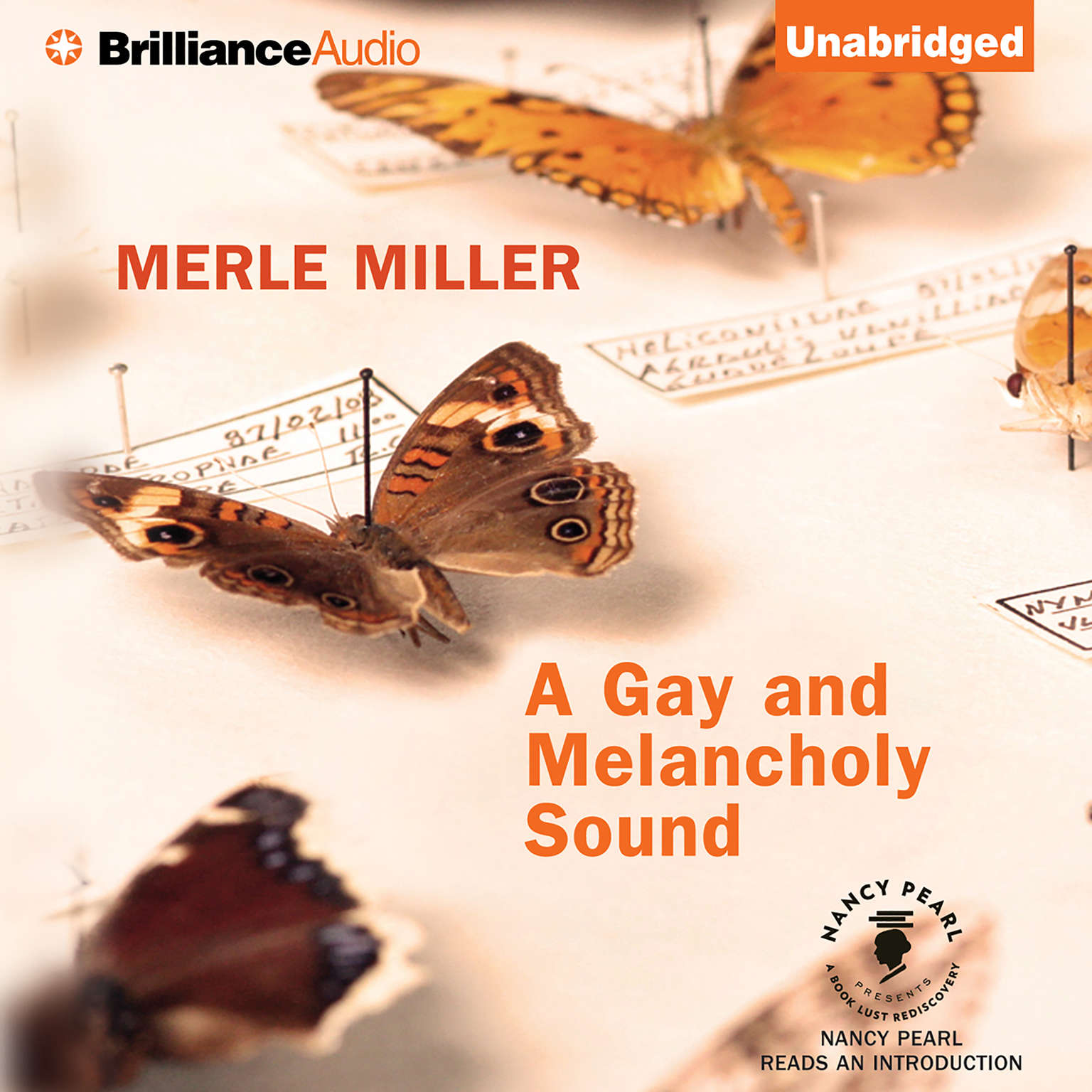 Printable A Gay and Melancholy Sound Audiobook Cover Art