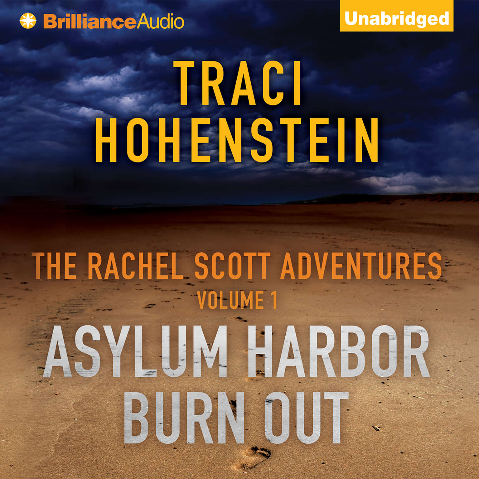 Printable The Rachel Scott Adventures Vol 1: Asylum Harbor and Burn Out Audiobook Cover Art