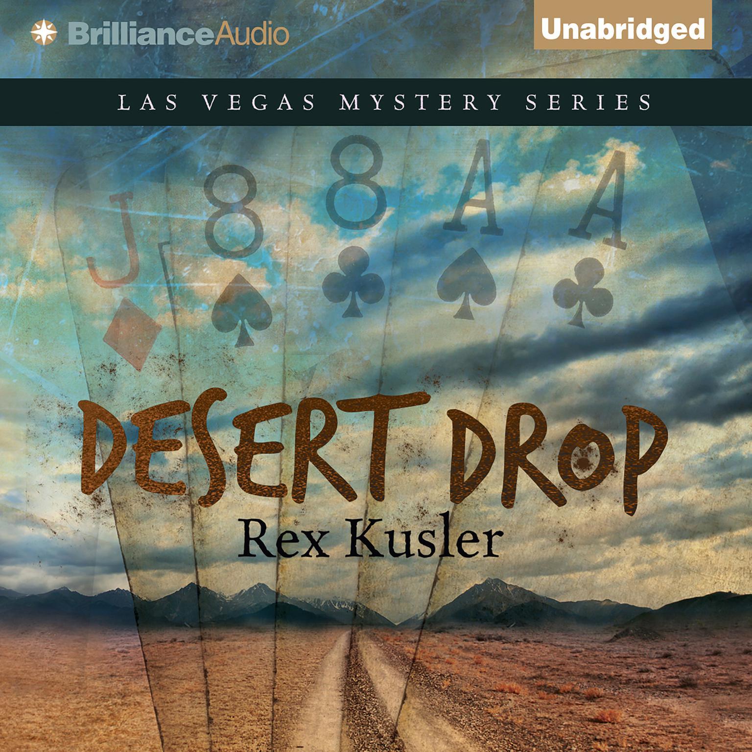 Printable Desert Drop Audiobook Cover Art