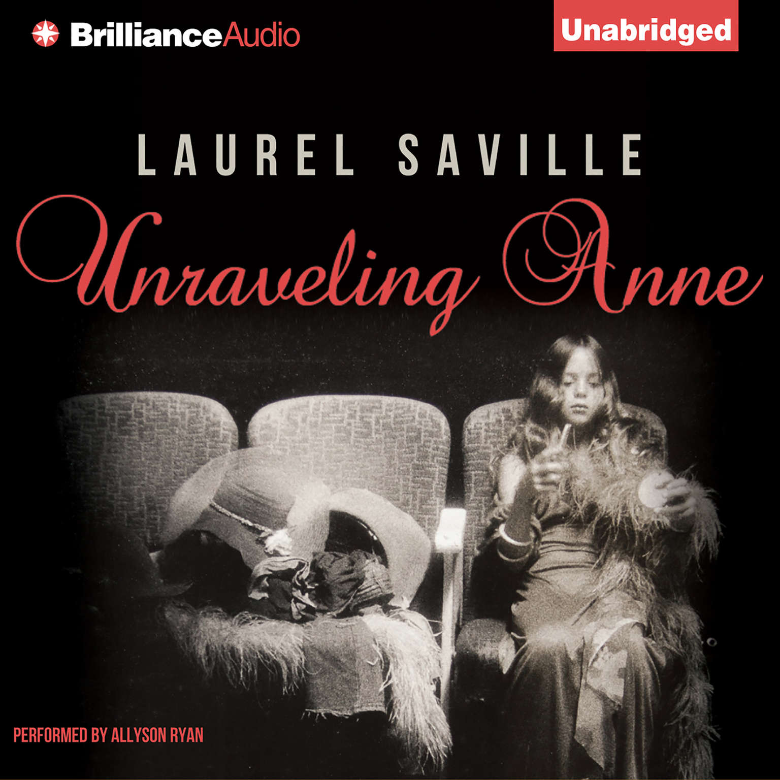 Printable Unraveling Anne Audiobook Cover Art