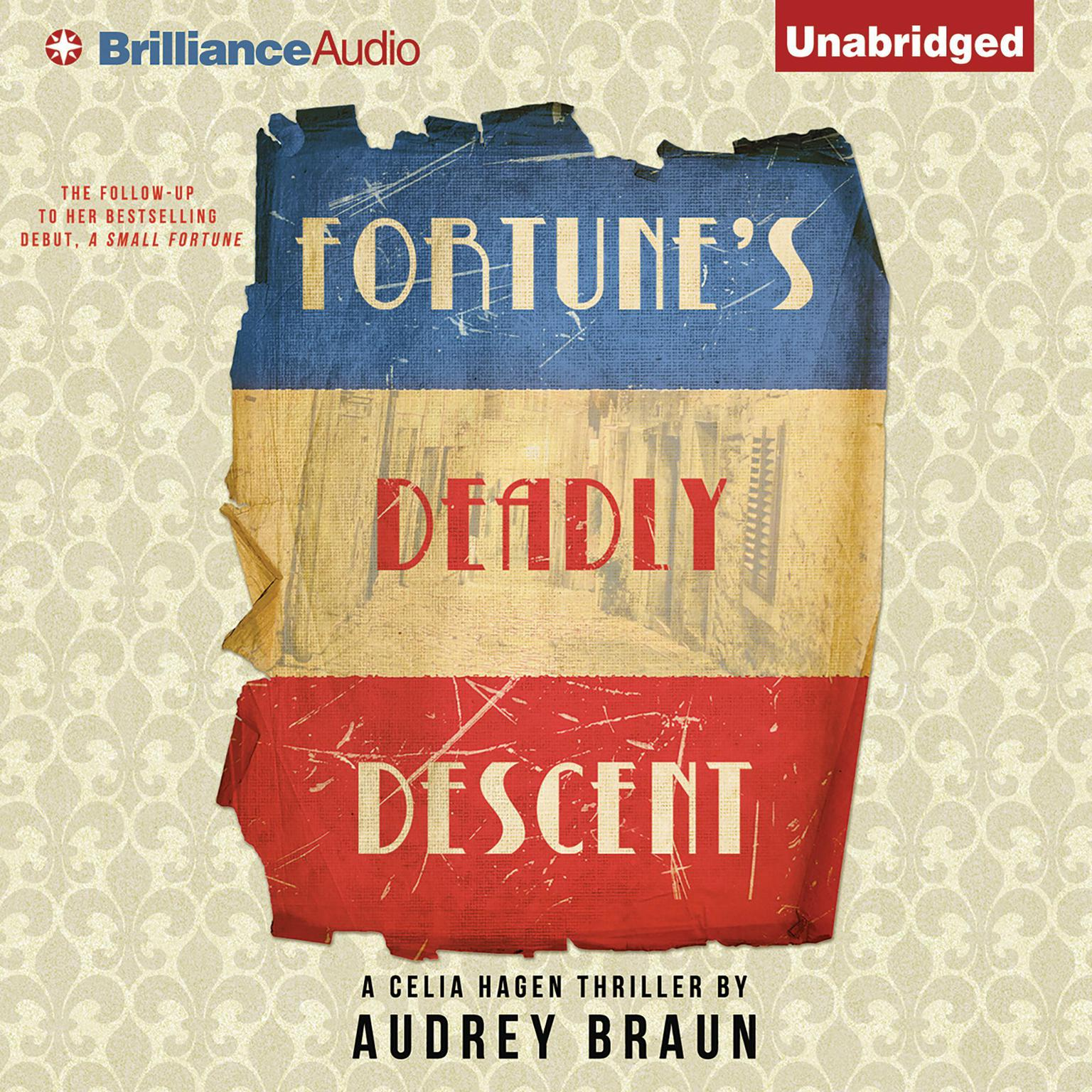Printable Fortune's Deadly Descent Audiobook Cover Art