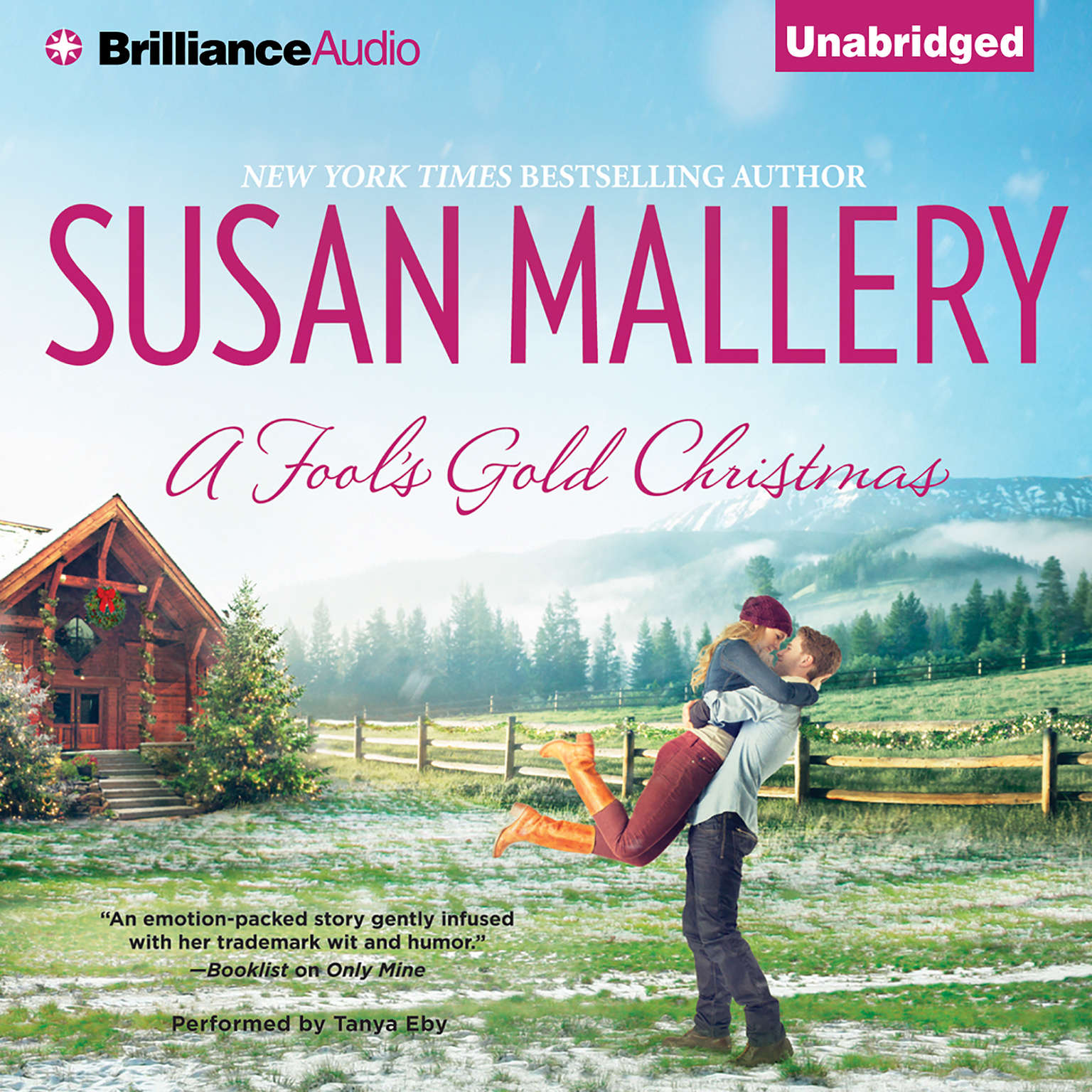 Printable A Fool's Gold Christmas Audiobook Cover Art