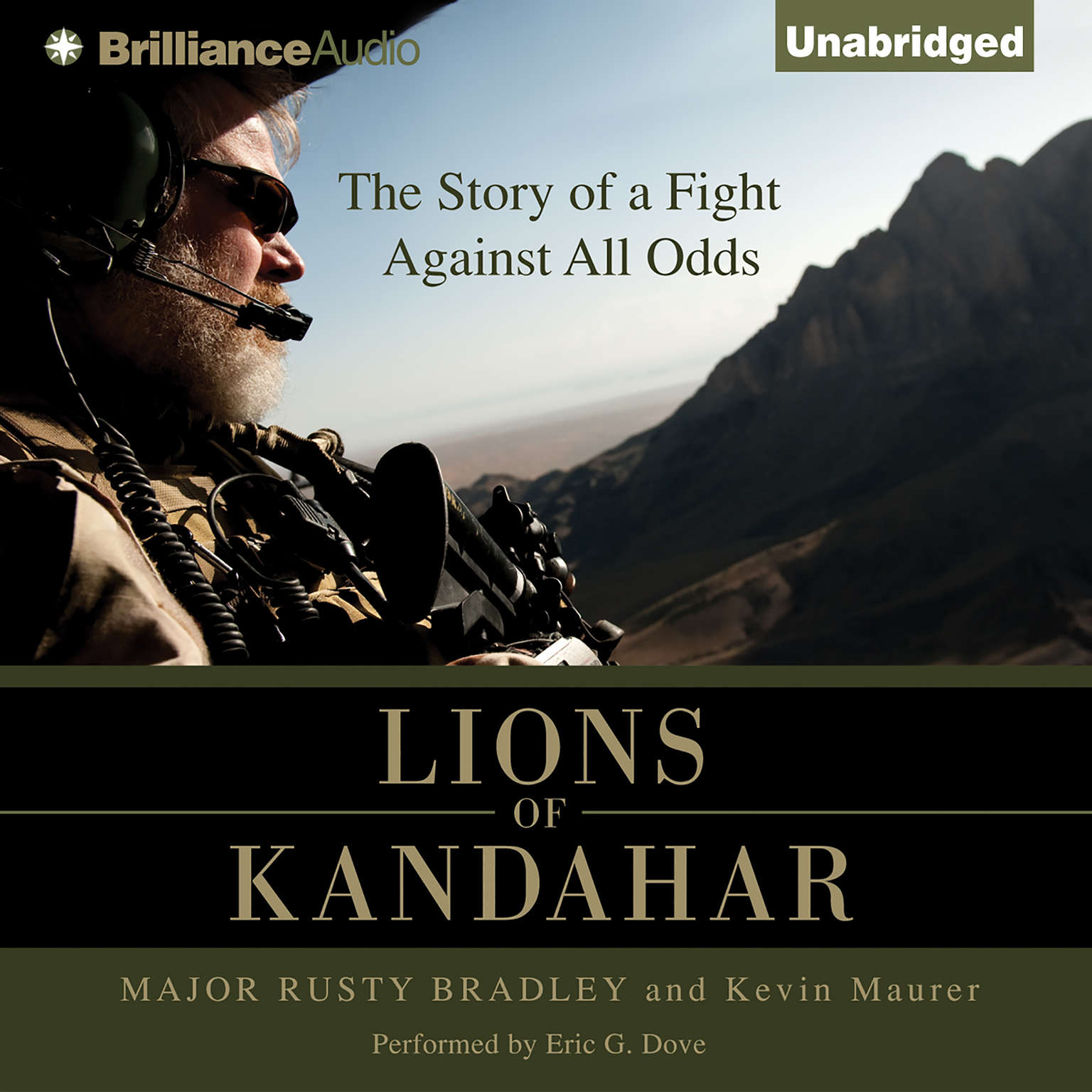Printable Lions of Kandahar: The Story of a Fight Against All Odds Audiobook Cover Art