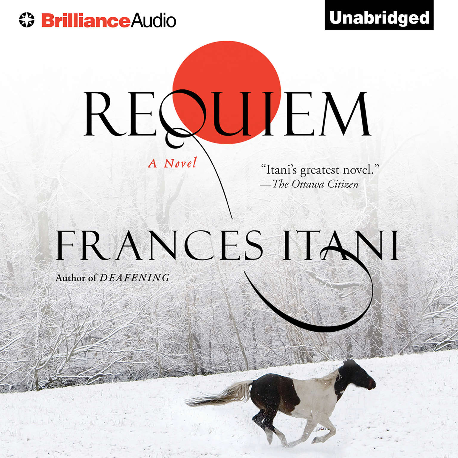 Printable Requiem Audiobook Cover Art