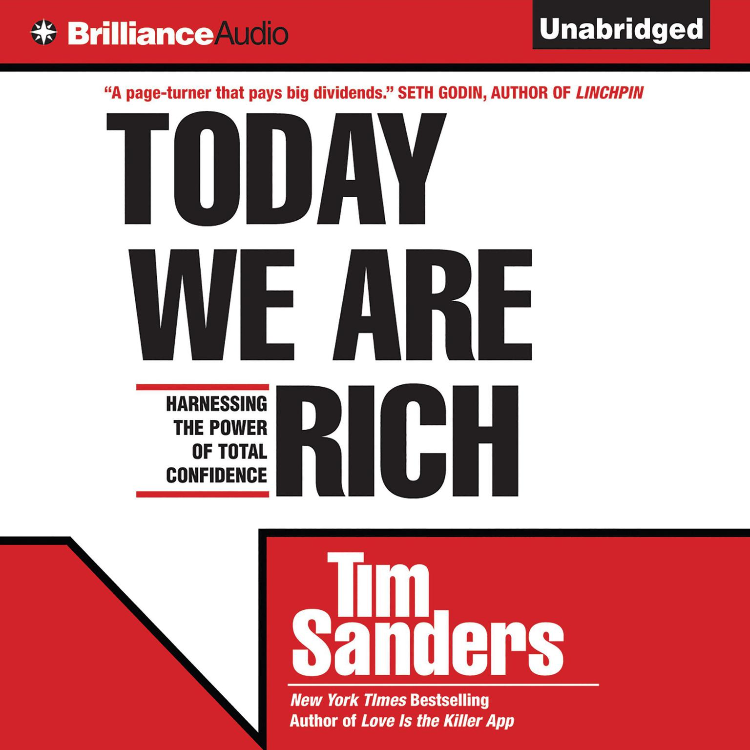 Printable Today We are Rich: Harnessing the Power of Total Confidence Audiobook Cover Art