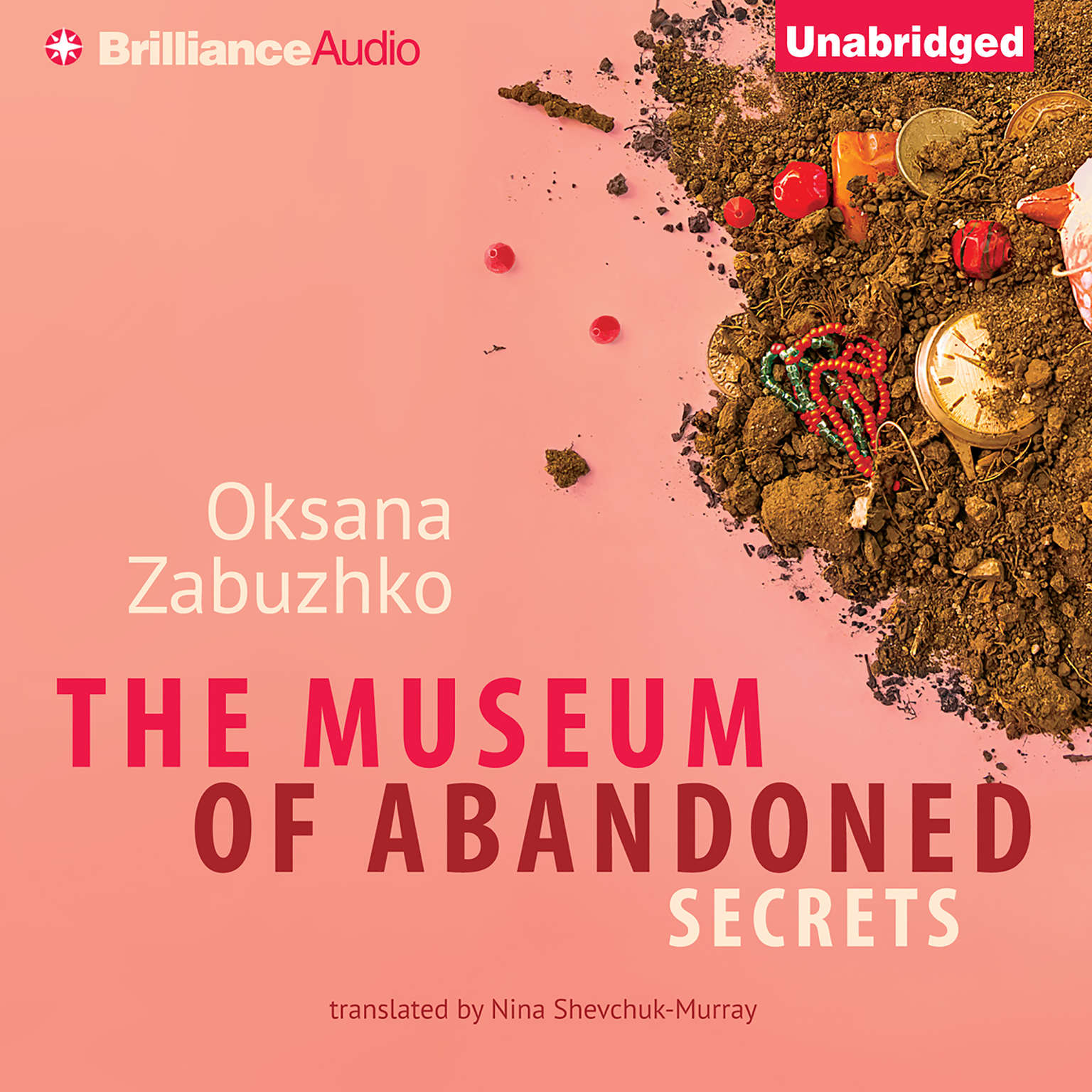 Printable The Museum of Abandoned Secrets Audiobook Cover Art