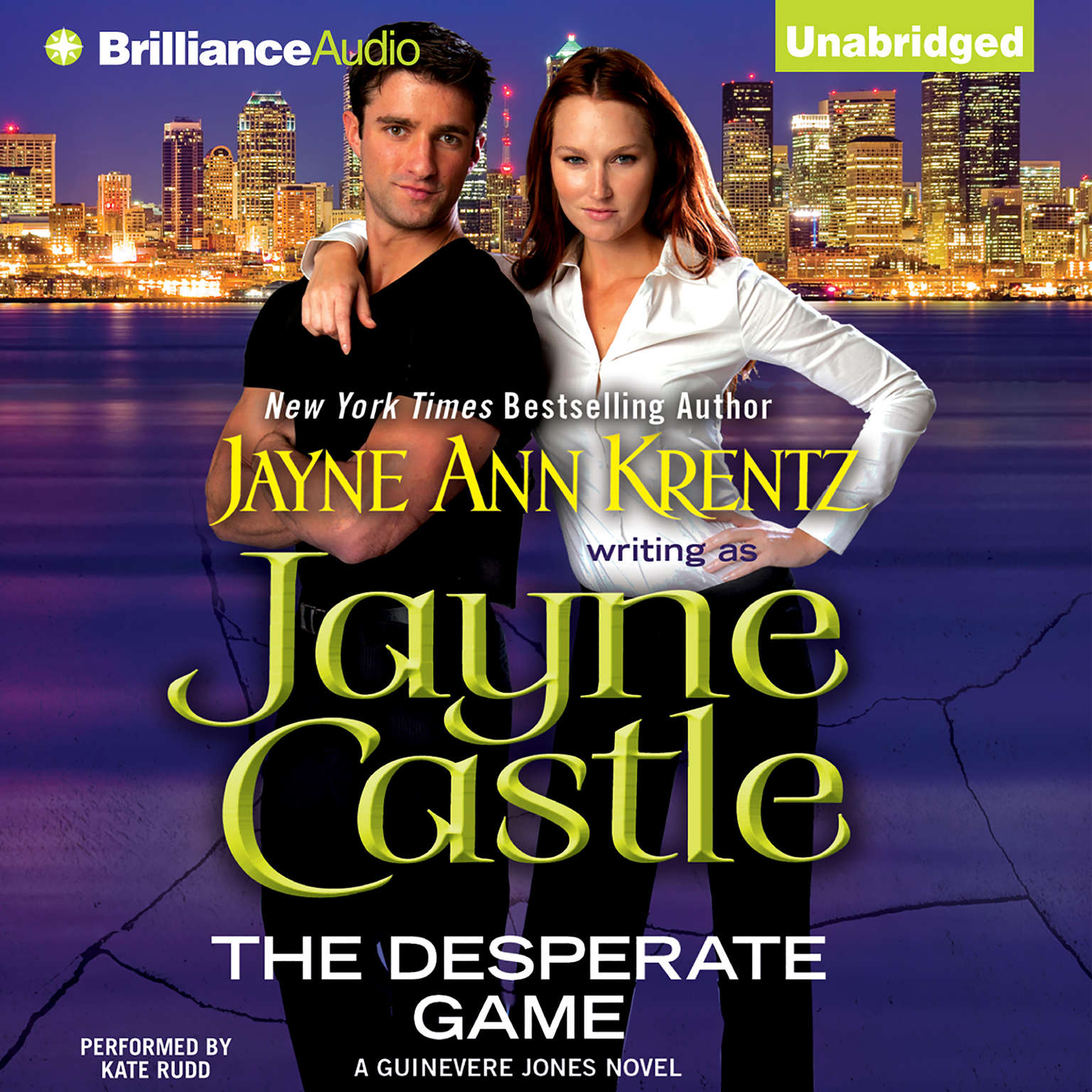 Printable The Desperate Game Audiobook Cover Art