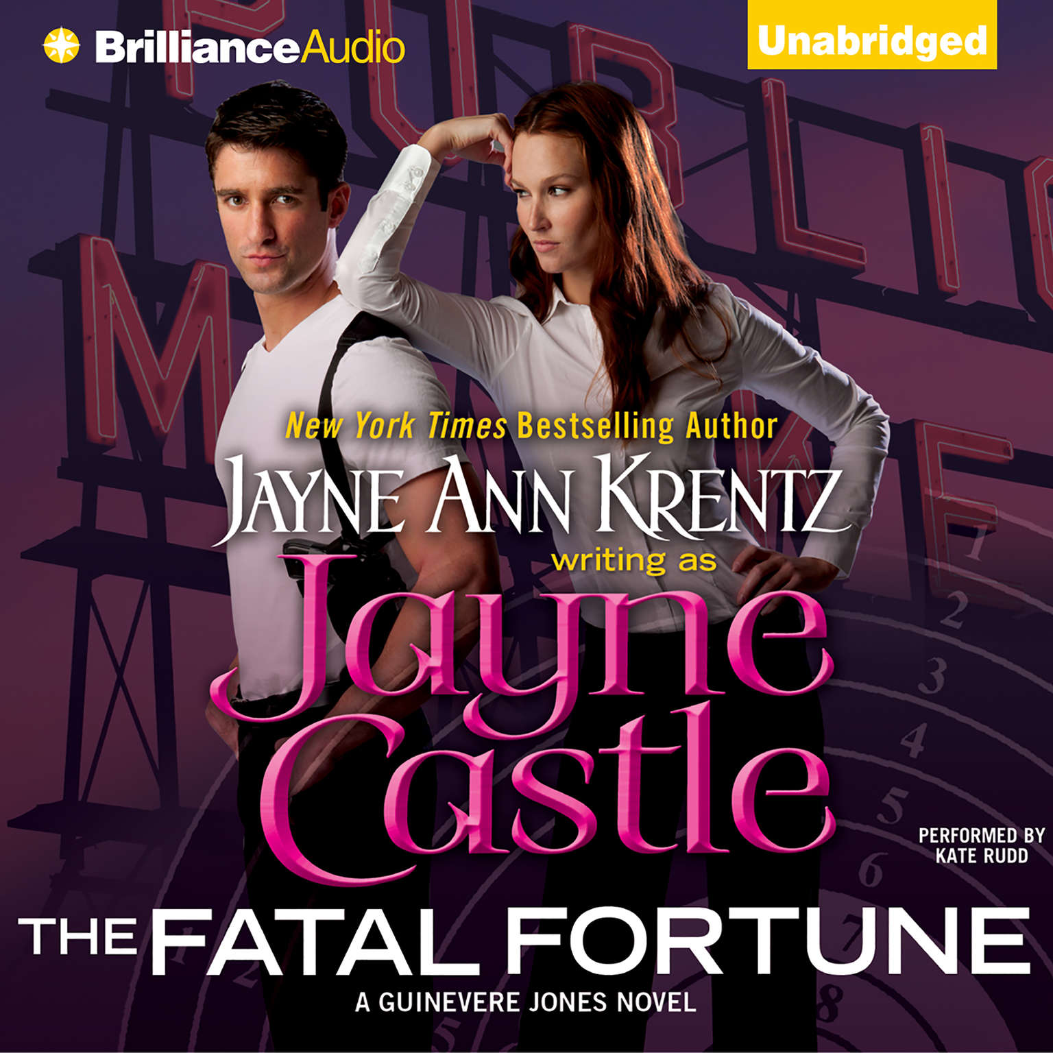 Printable The Fatal Fortune Audiobook Cover Art