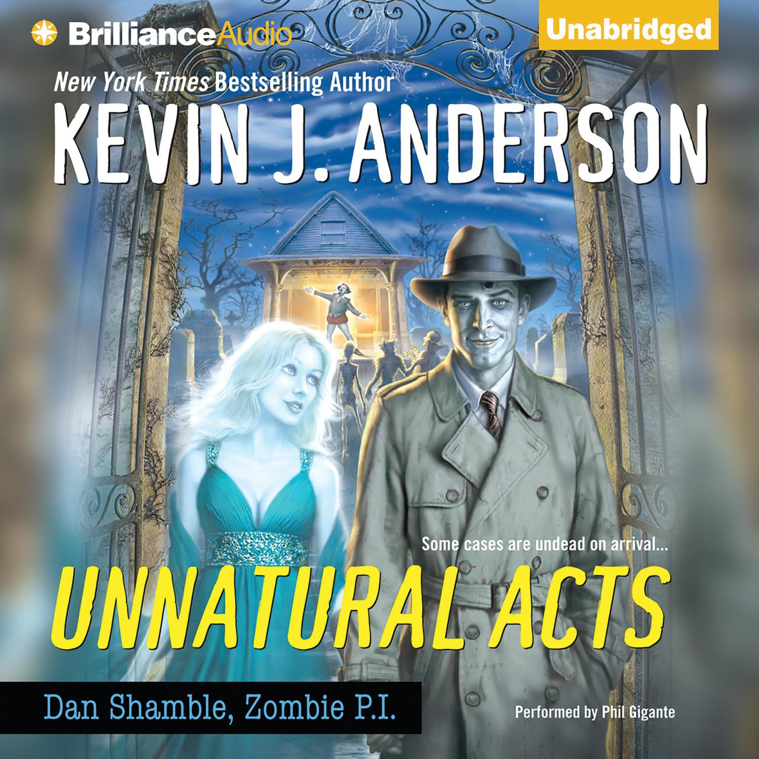 Printable Unnatural Acts Audiobook Cover Art