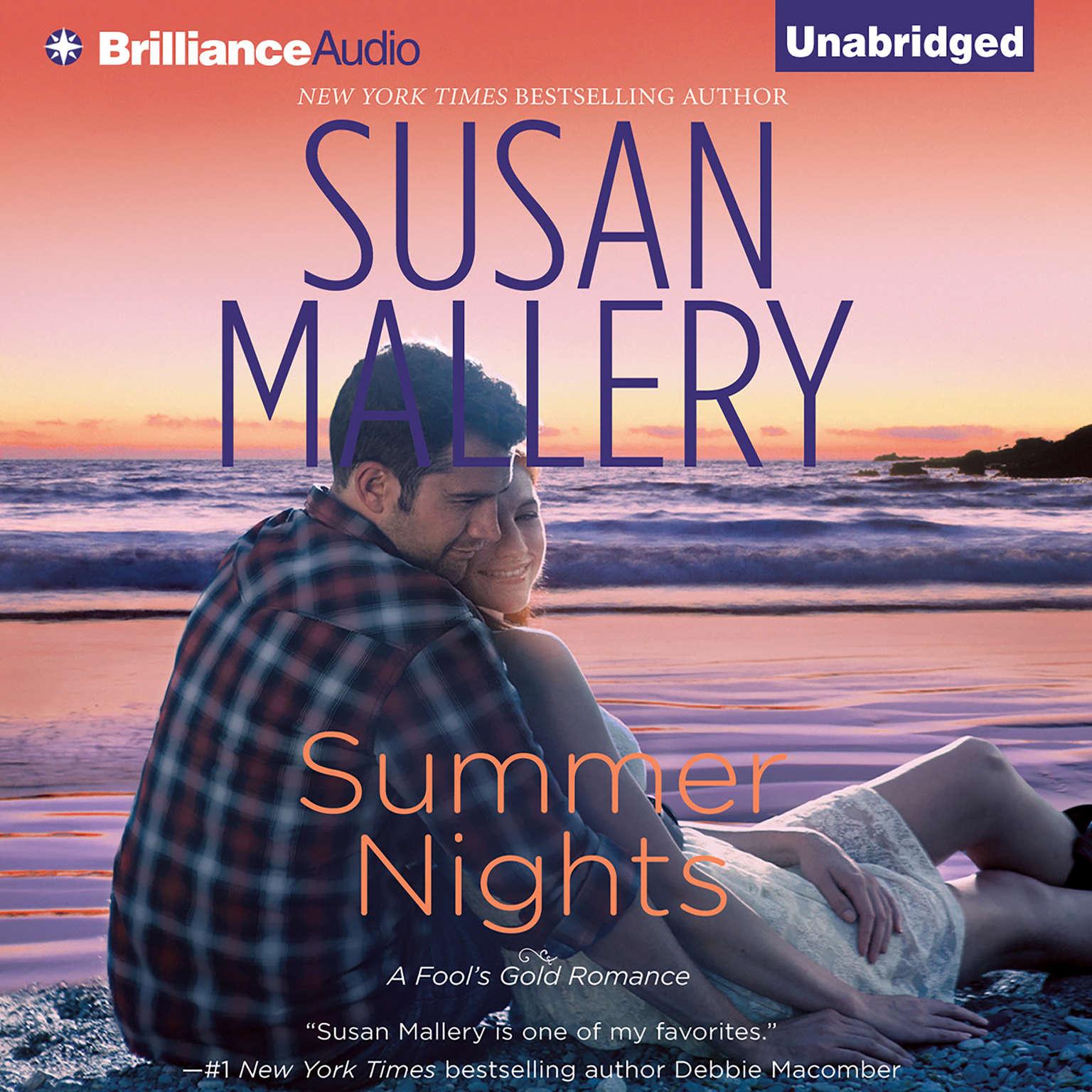 Printable Summer Nights Audiobook Cover Art