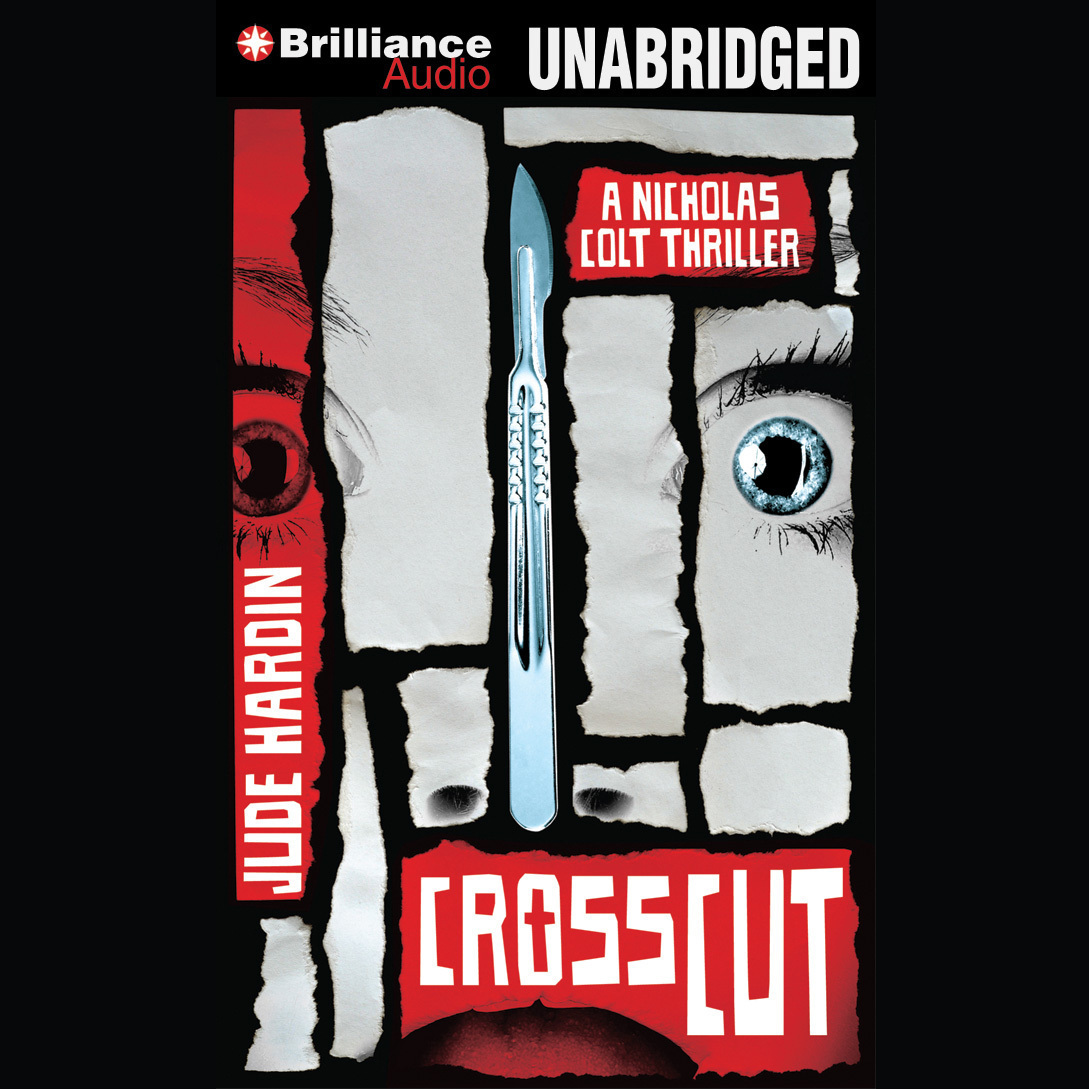 Printable Crosscut Audiobook Cover Art