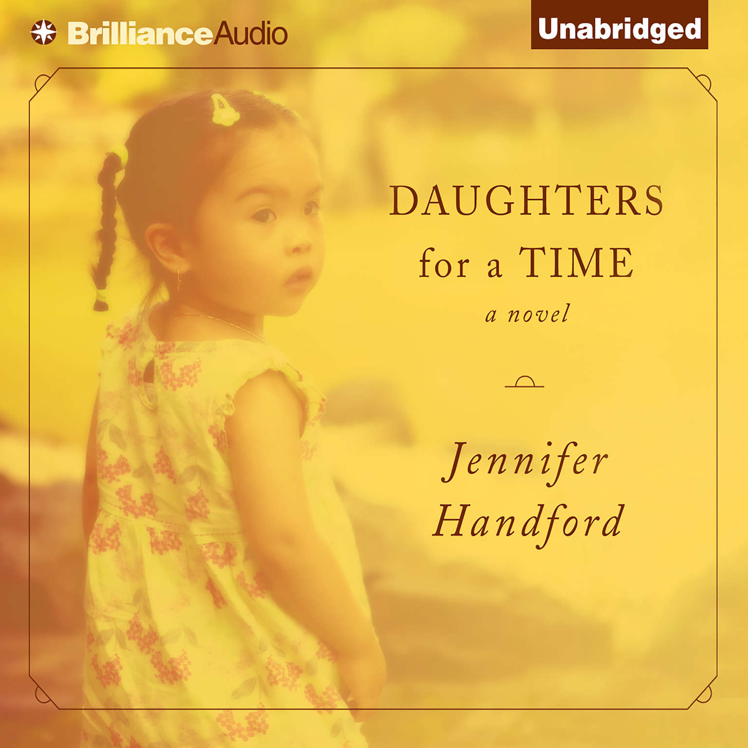 Printable Daughters for a Time Audiobook Cover Art