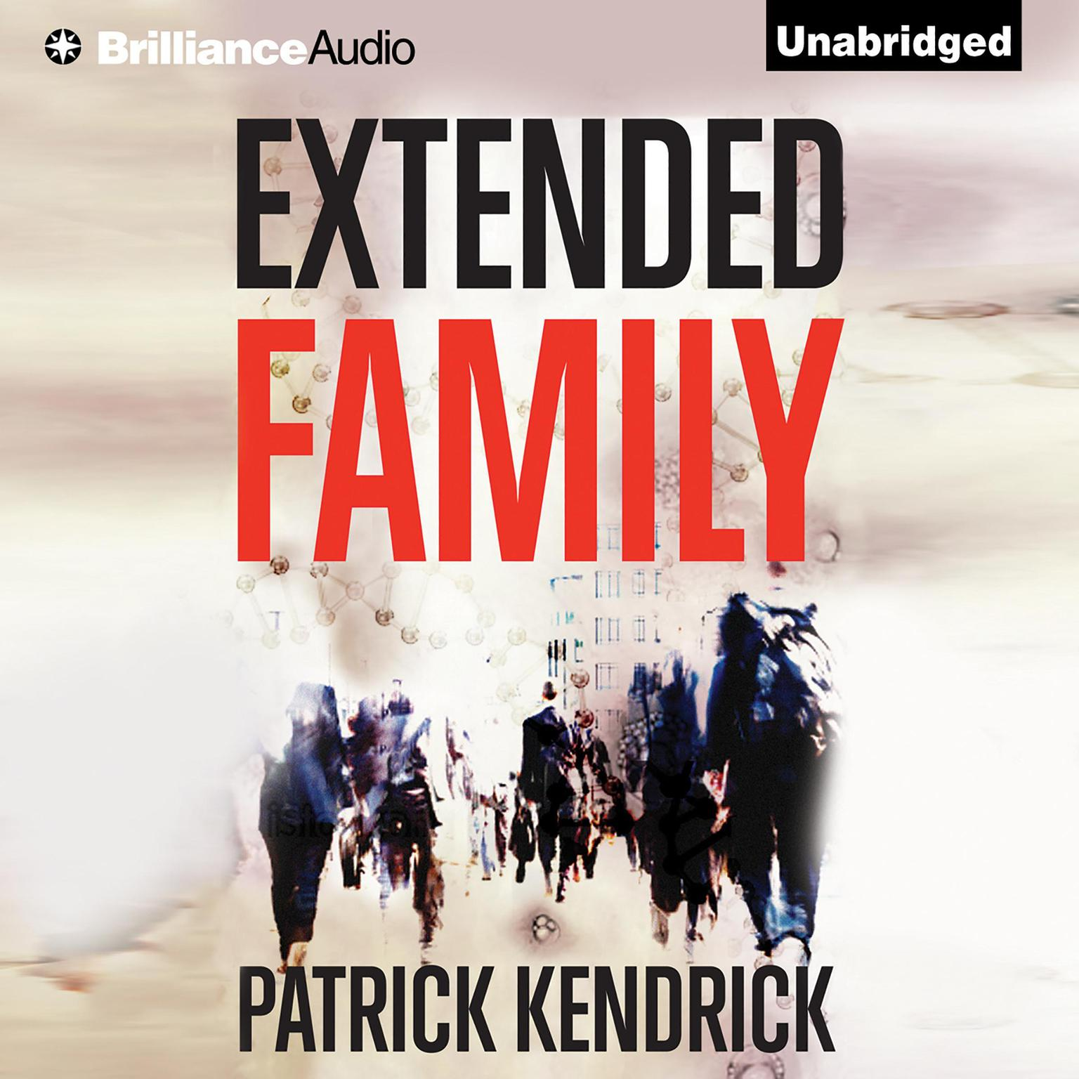 Printable Extended Family Audiobook Cover Art