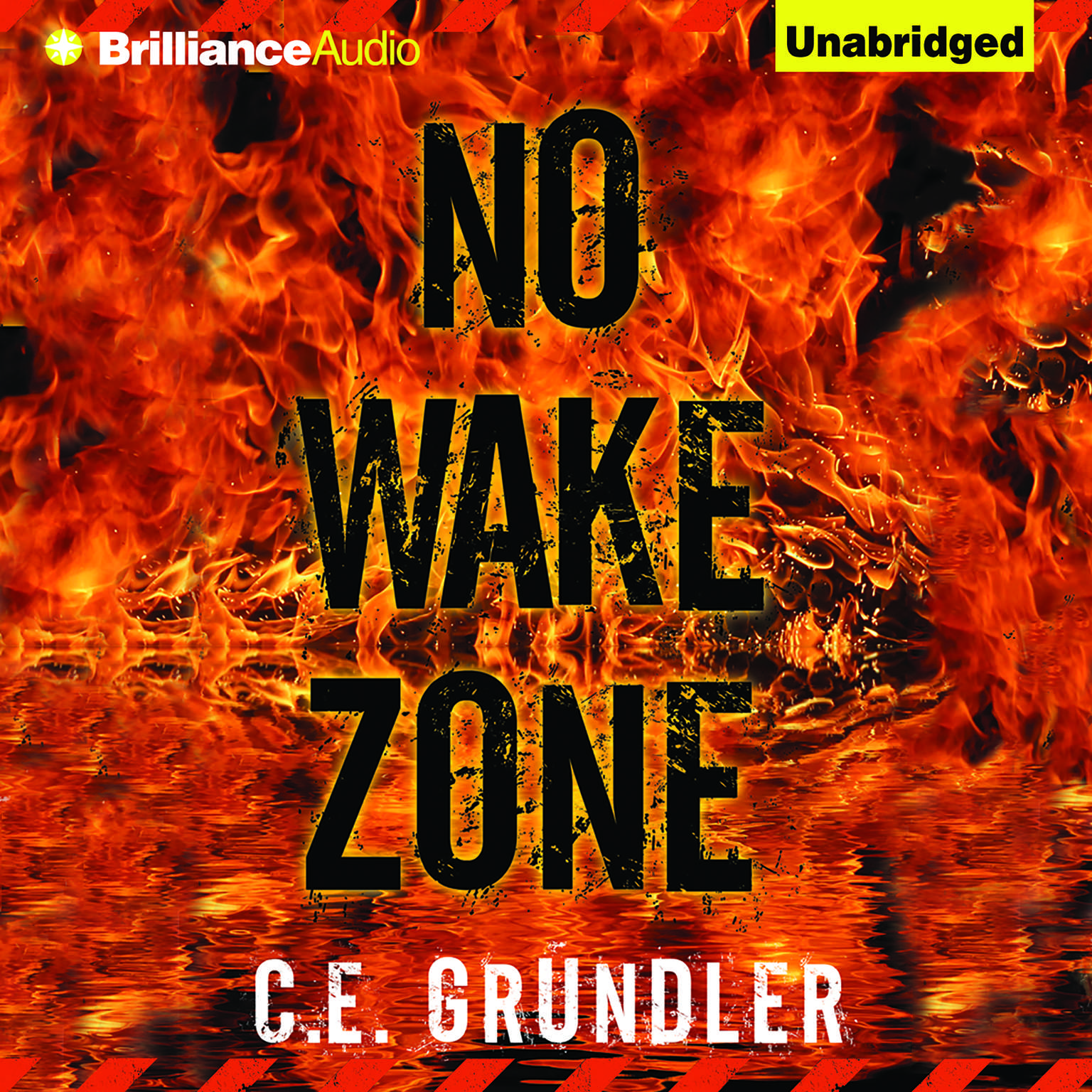 Printable No Wake Zone Audiobook Cover Art