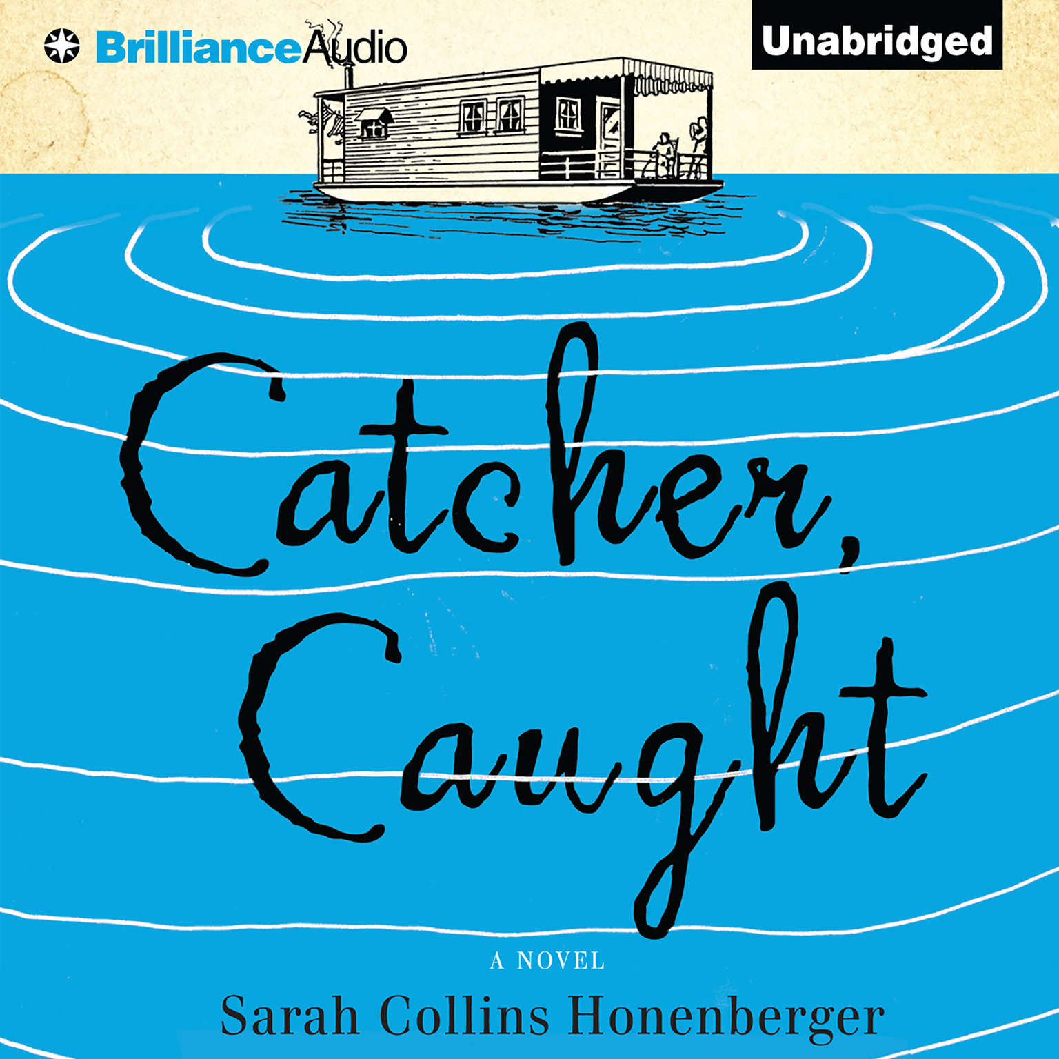 Printable Catcher, Caught Audiobook Cover Art