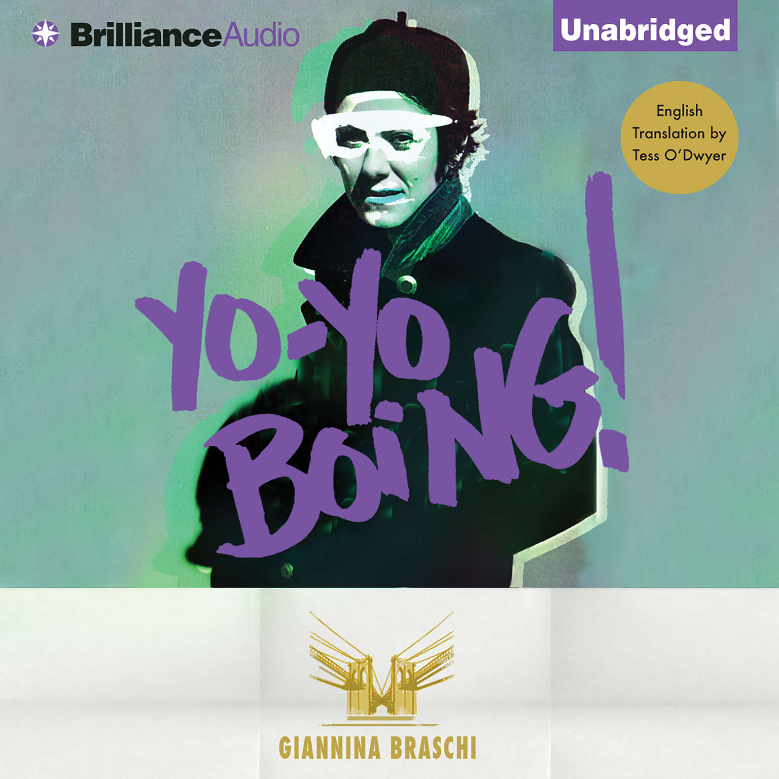 Printable Yo-Yo Boing! Audiobook Cover Art