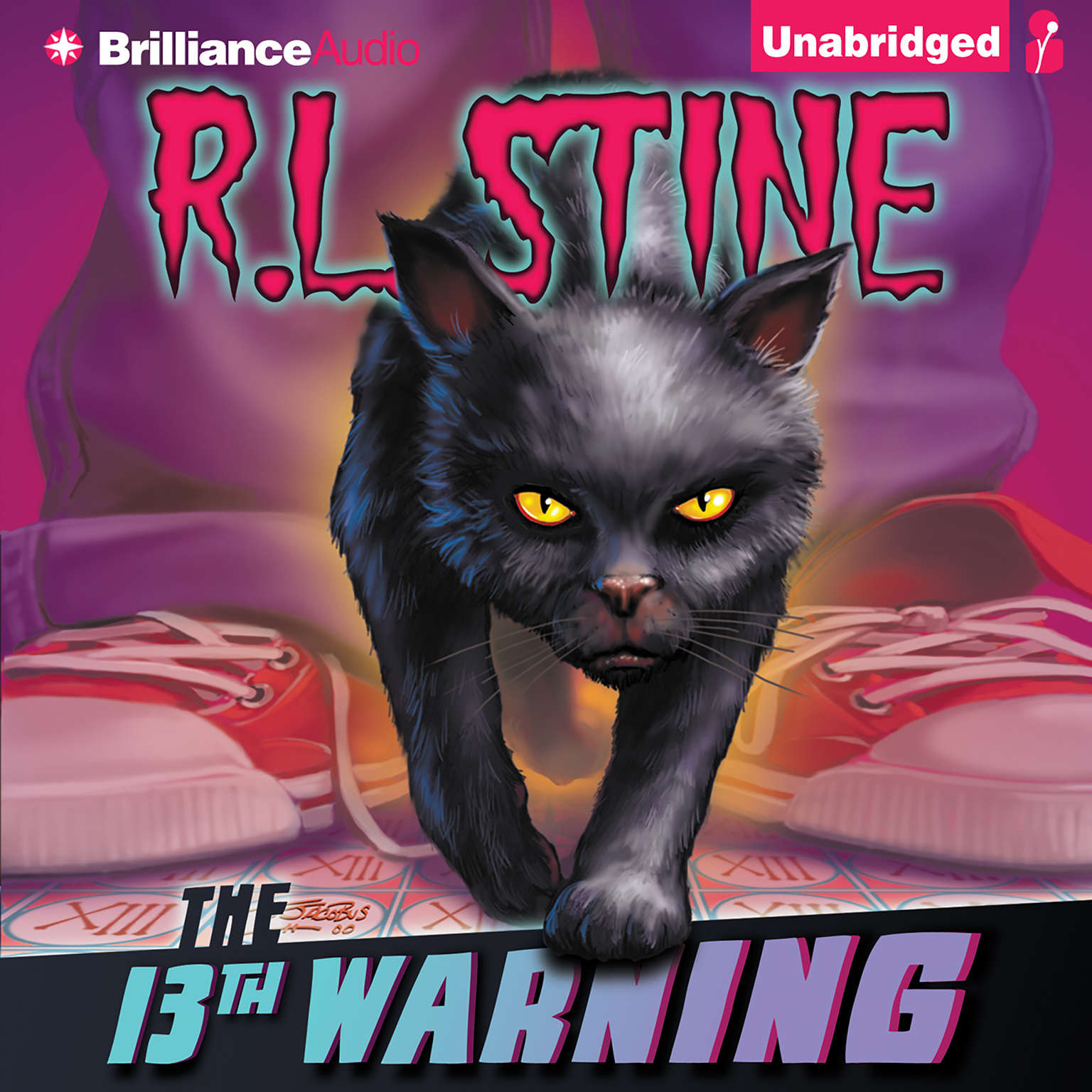 Printable The 13th Warning Audiobook Cover Art