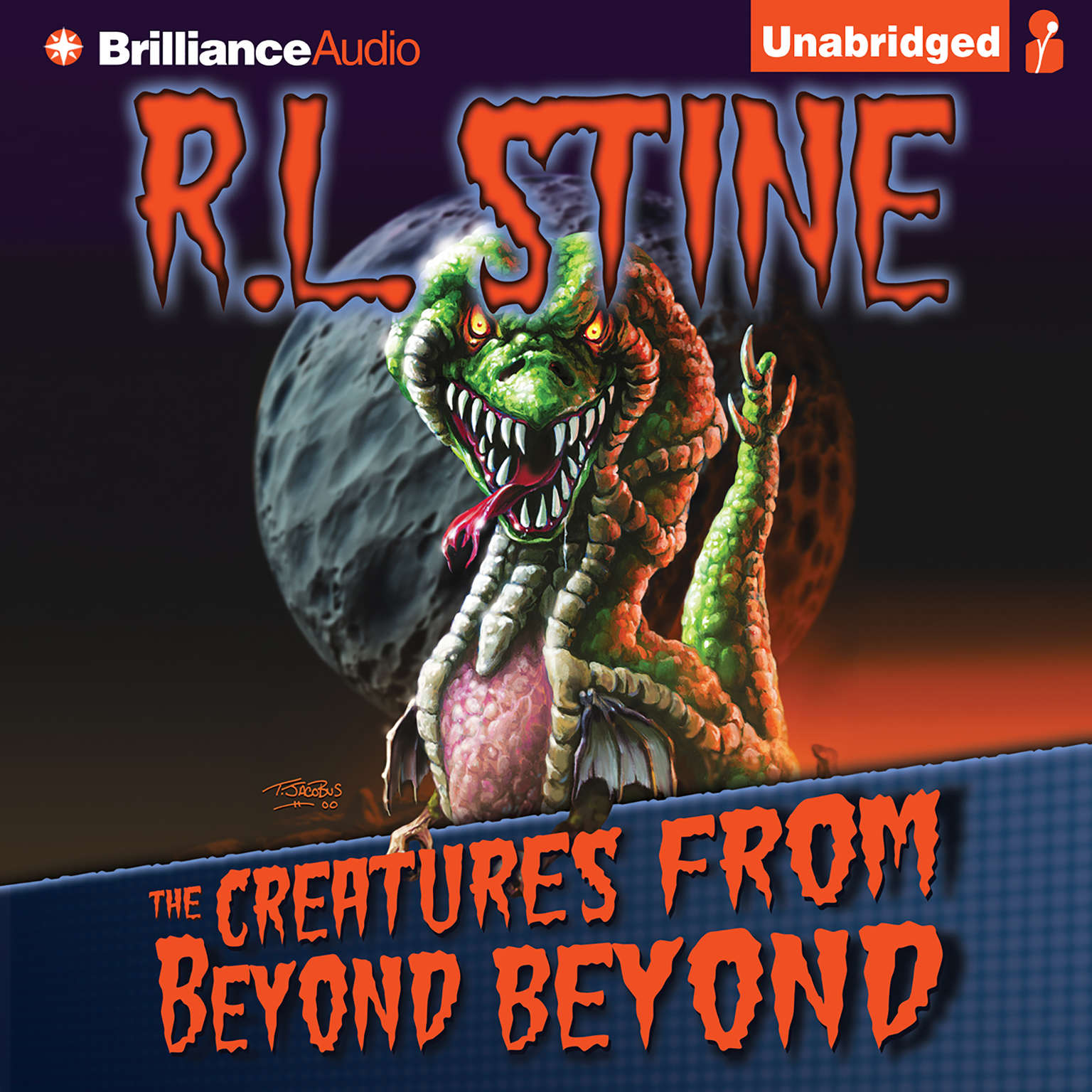 Printable The Creatures from Beyond Beyond Audiobook Cover Art