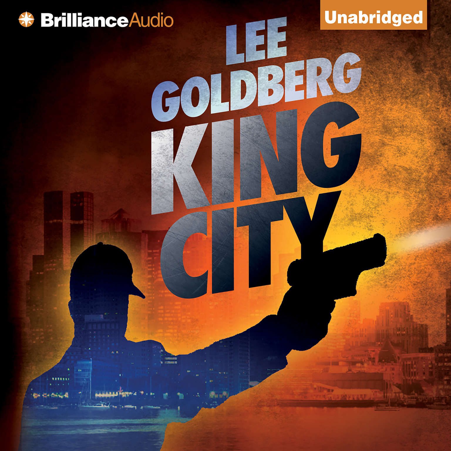 Printable King City Audiobook Cover Art