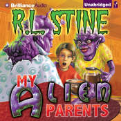 My Alien Parents Audiobook, by R. L. Stine