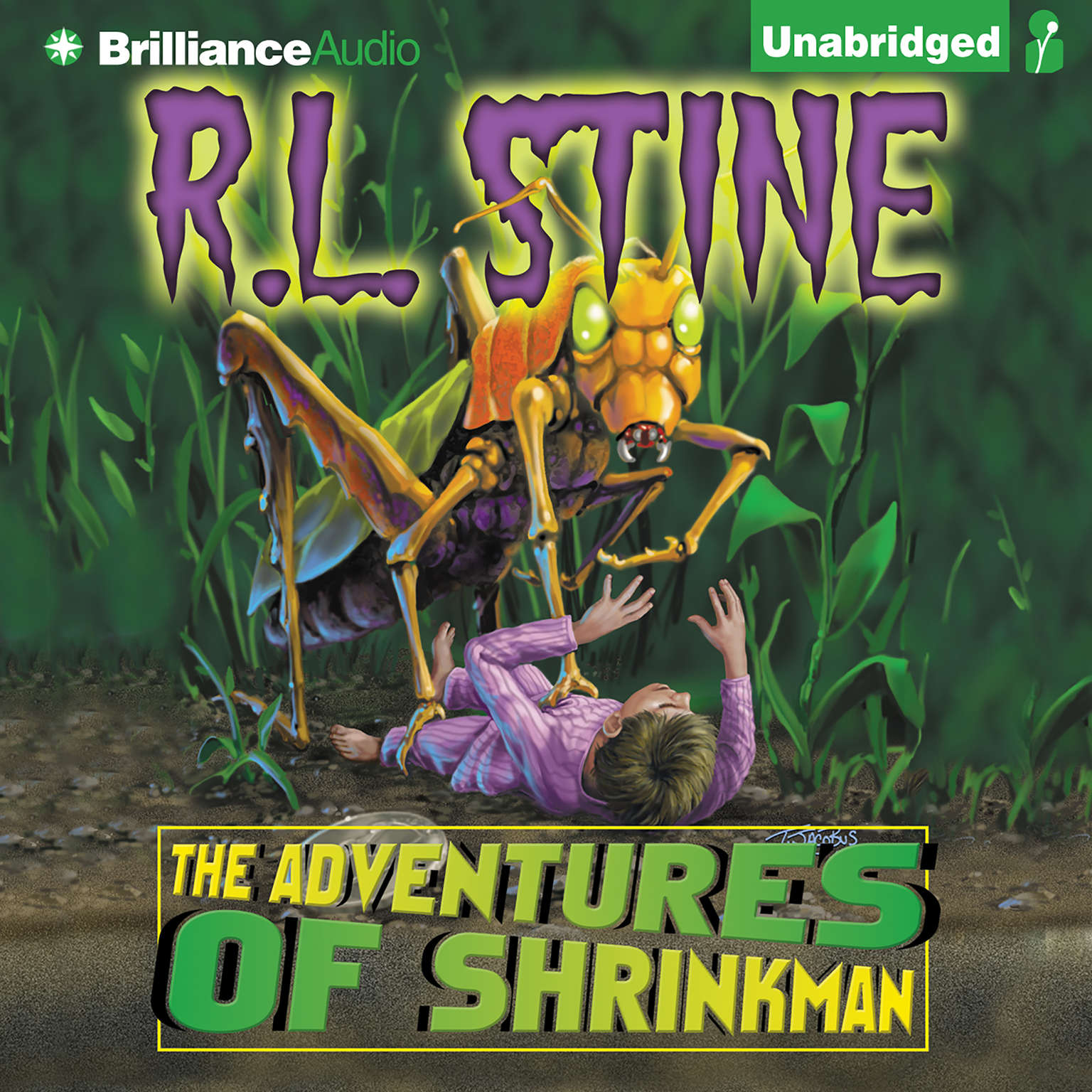 Printable The Adventures of Shrinkman Audiobook Cover Art