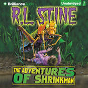 The Adventures of Shrinkman Audiobook, by R. L. Stine
