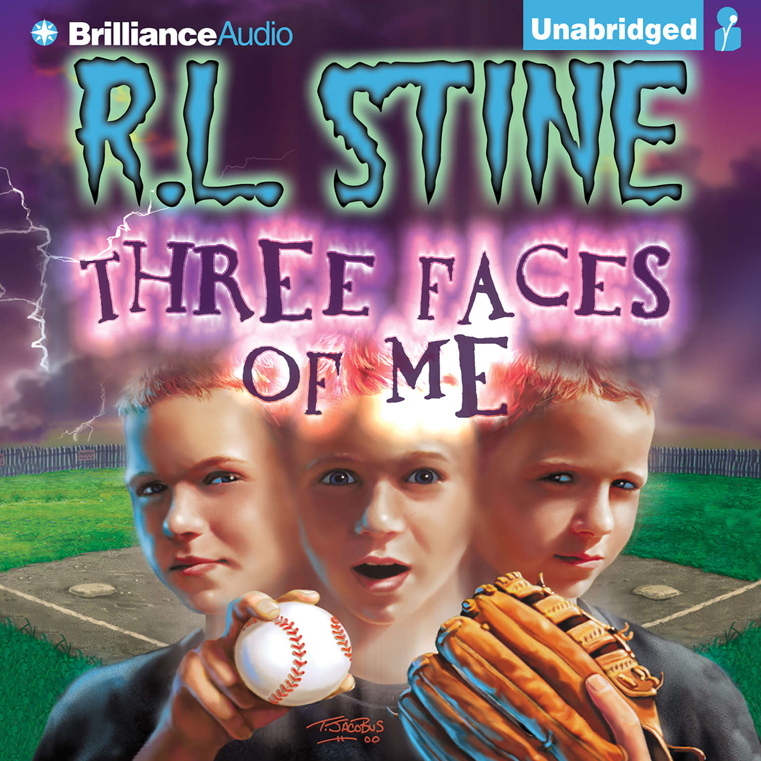 Printable Three Faces of Me Audiobook Cover Art
