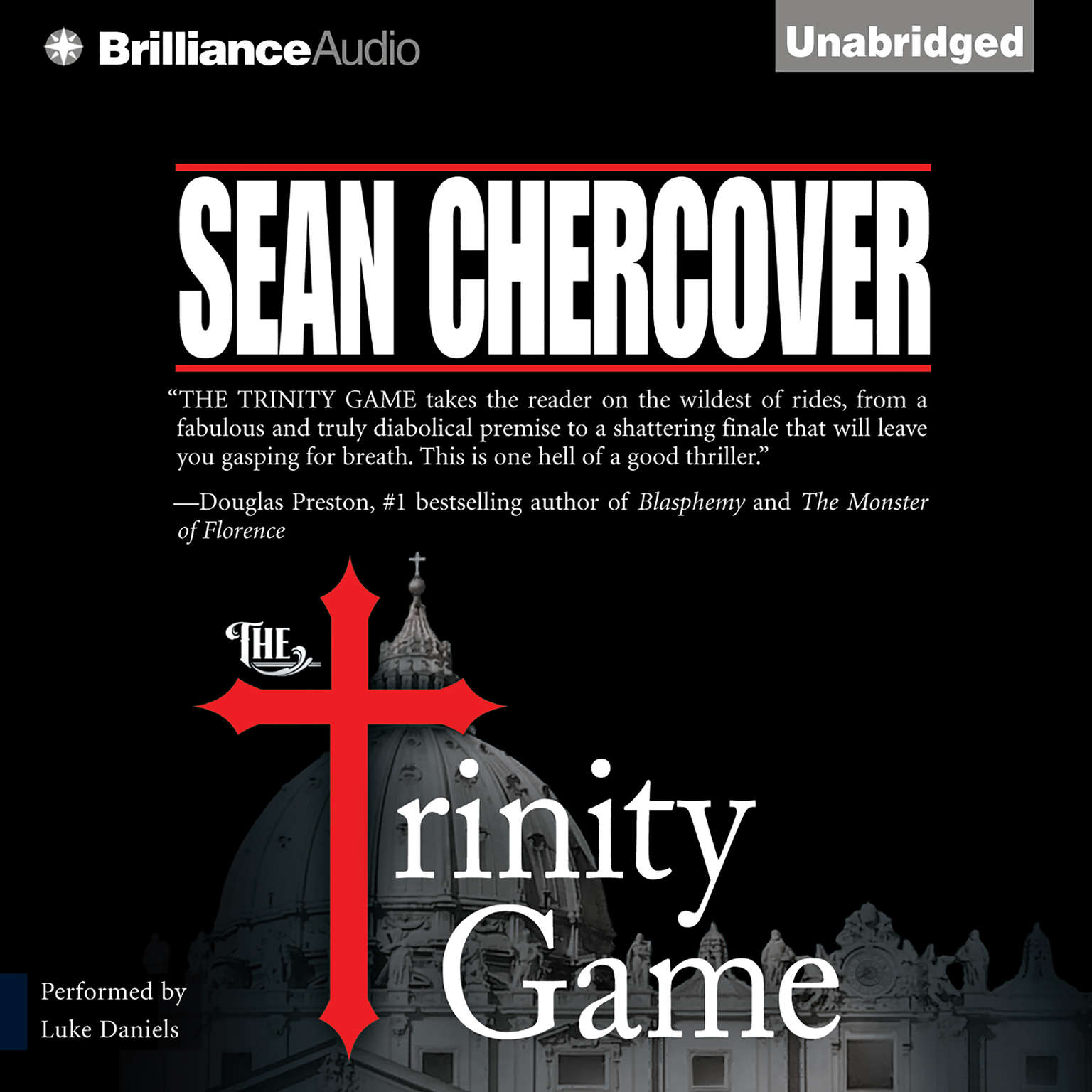 Printable The Trinity Game Audiobook Cover Art