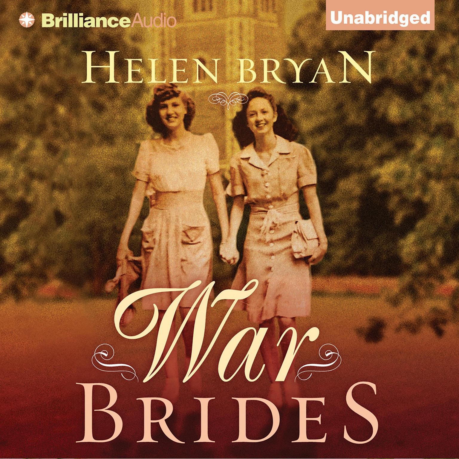 Printable War Brides Audiobook Cover Art