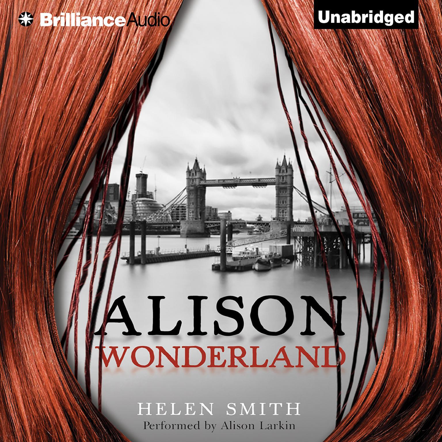 Printable Alison Wonderland Audiobook Cover Art