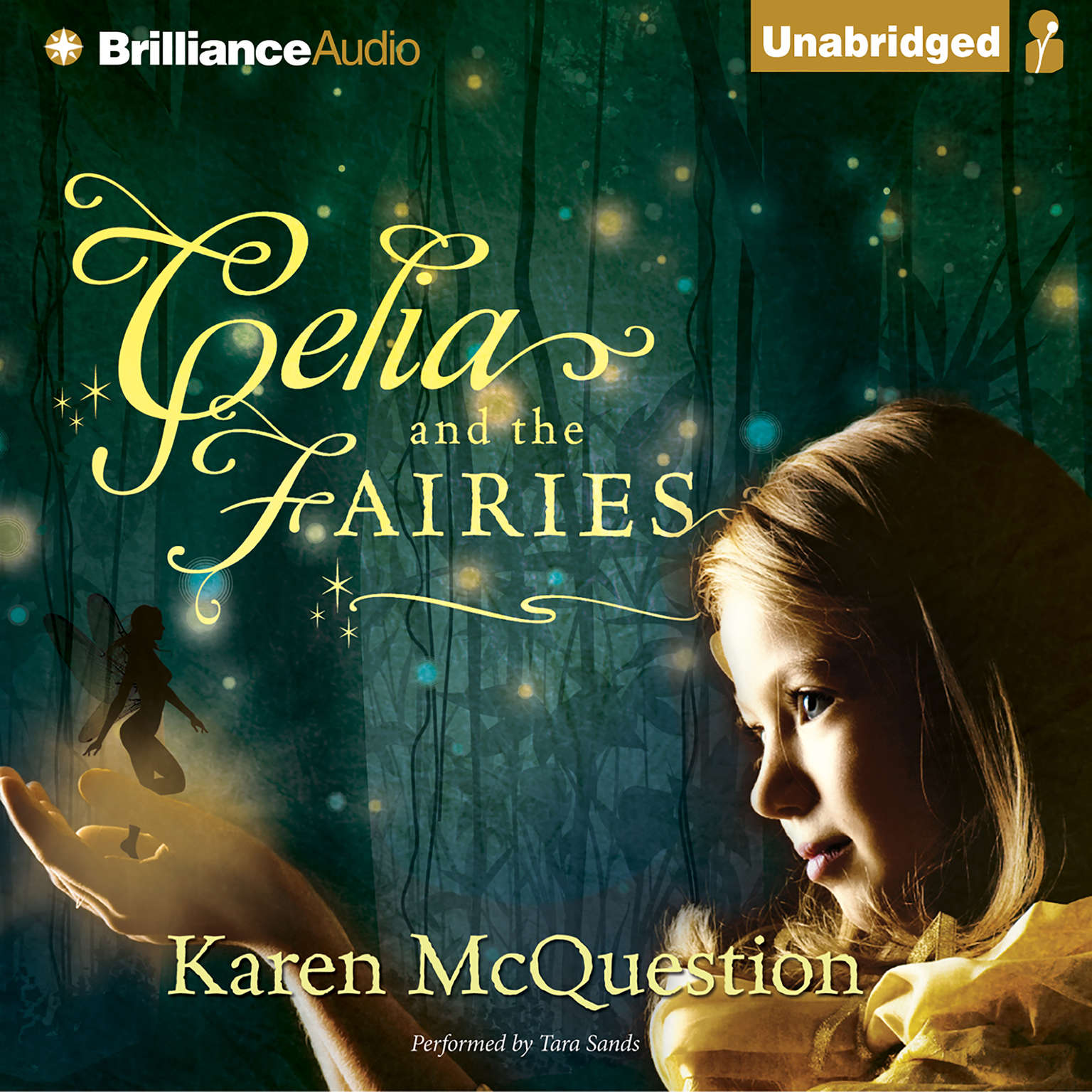 Printable Celia and the Fairies Audiobook Cover Art