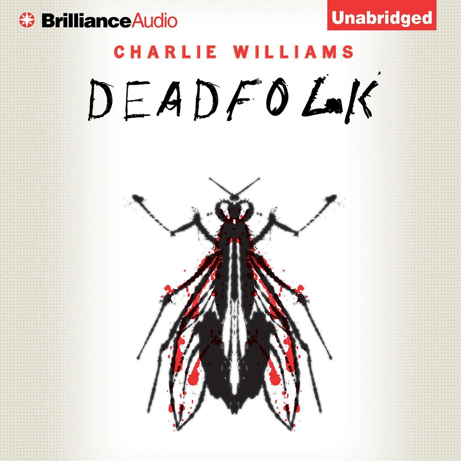 Printable Deadfolk Audiobook Cover Art
