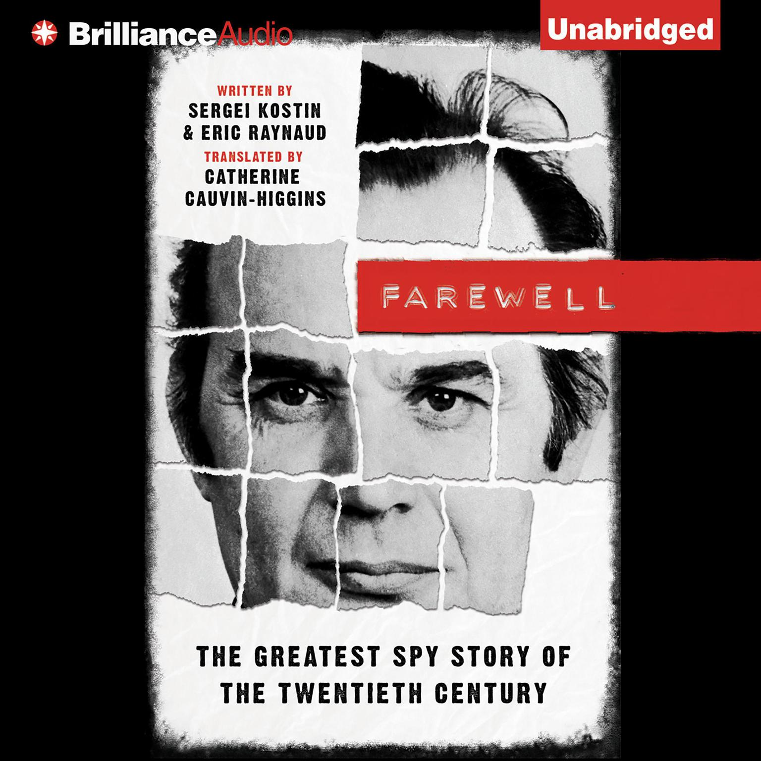 Printable Farewell: The Greatest Spy Story of the Twentieth Century Audiobook Cover Art