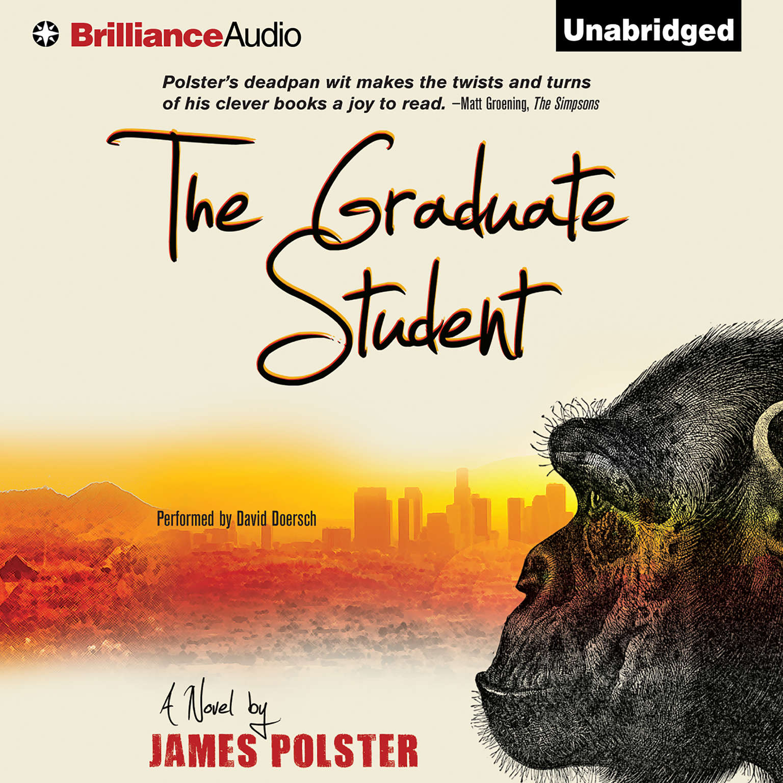 Printable The Graduate Student Audiobook Cover Art