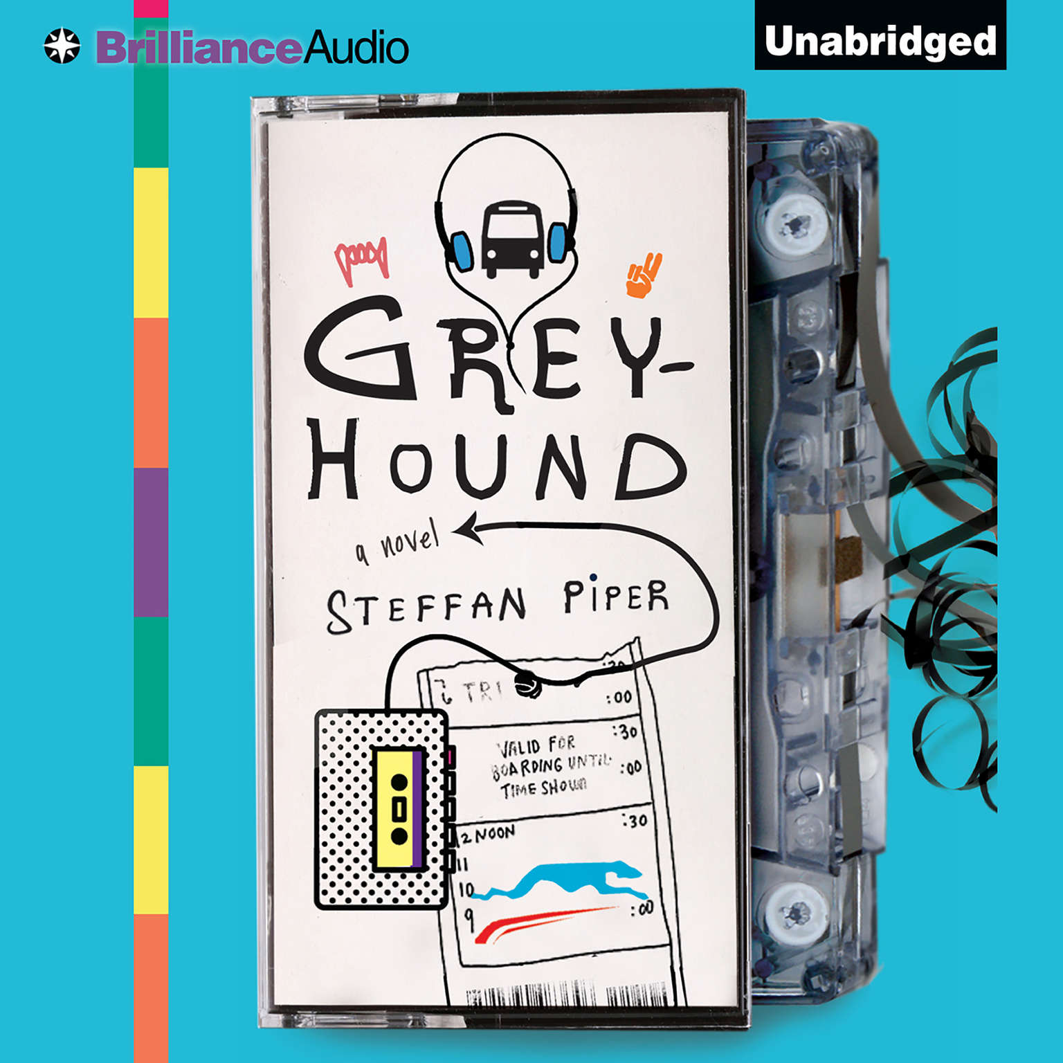 Printable Greyhound Audiobook Cover Art