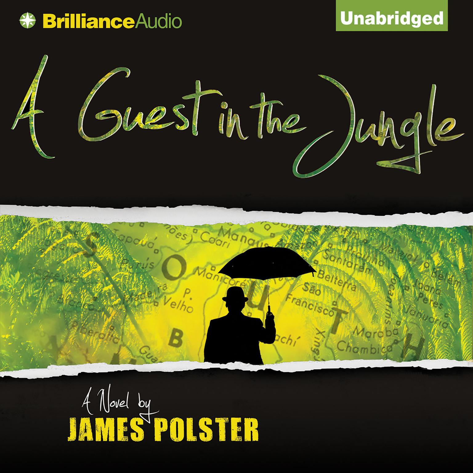 Printable A Guest in the Jungle Audiobook Cover Art