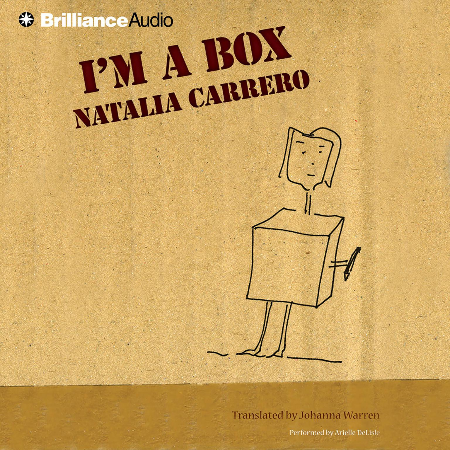 Printable I'm a Box Audiobook Cover Art