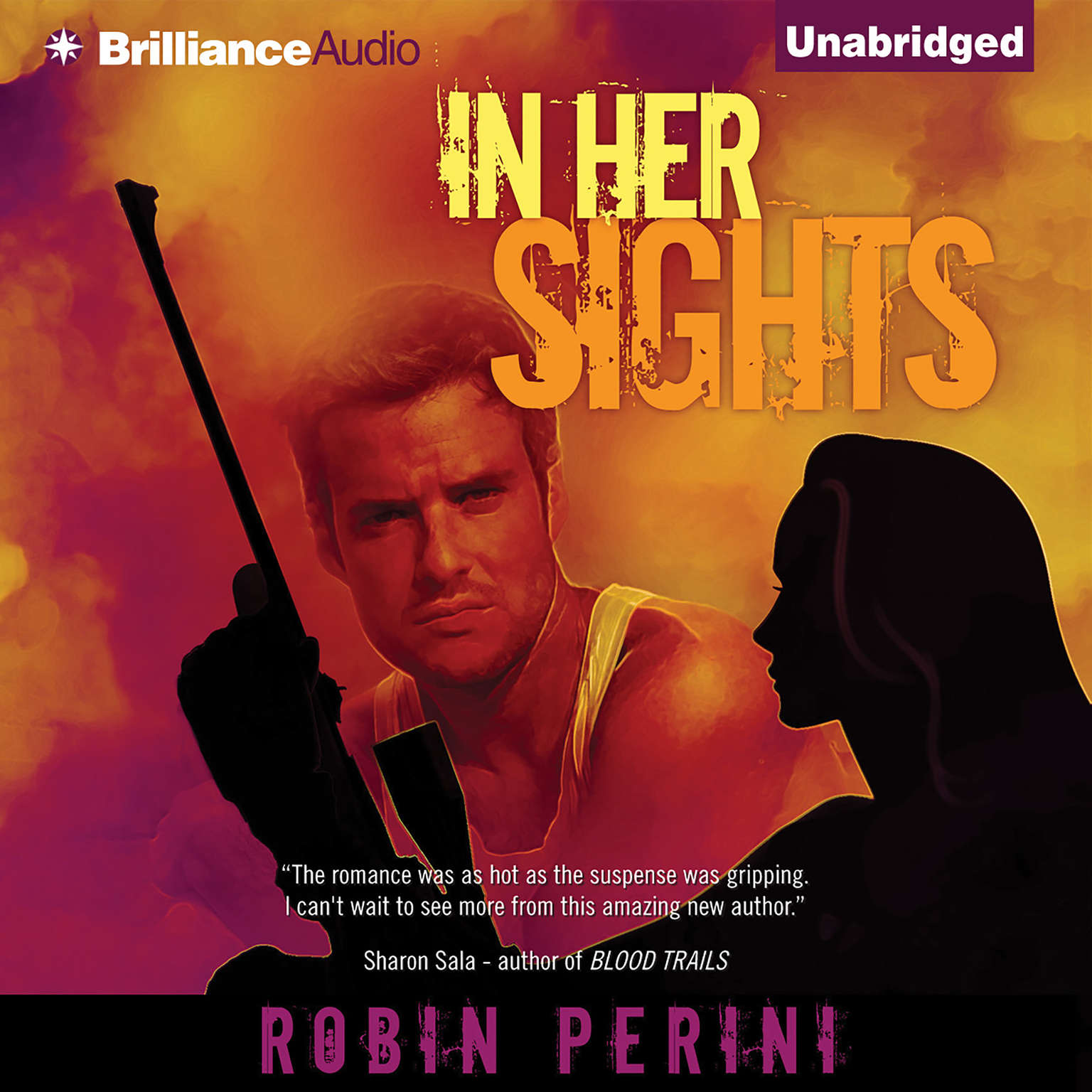 Printable In Her Sights Audiobook Cover Art