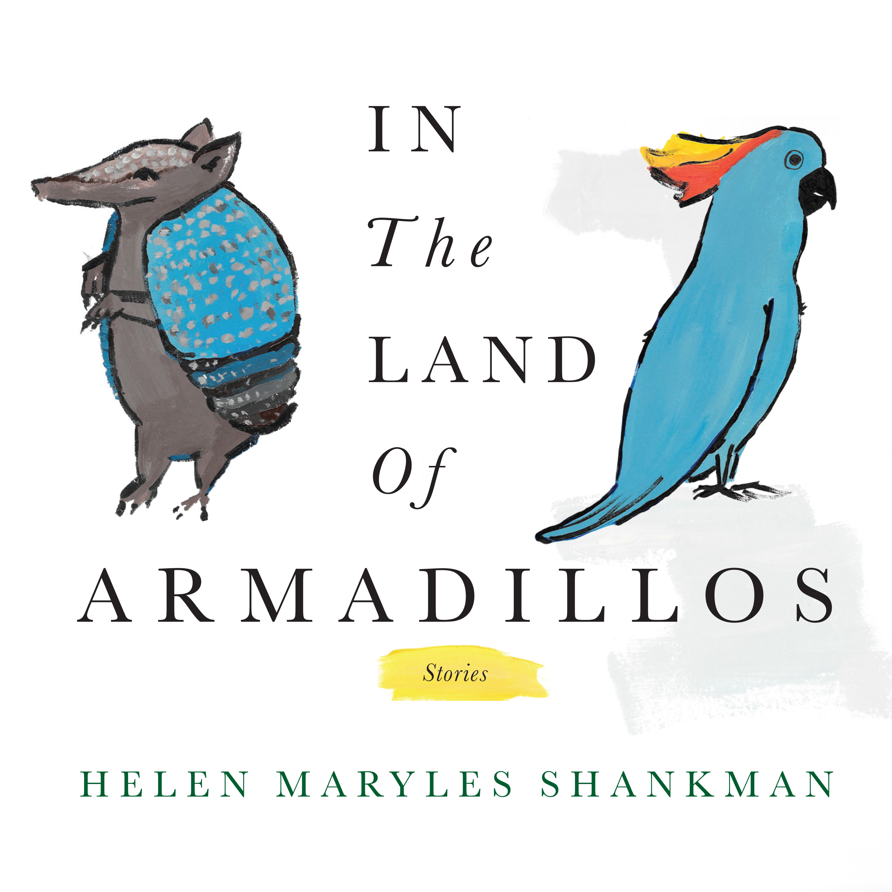 Printable In the Land of Armadillos Audiobook Cover Art