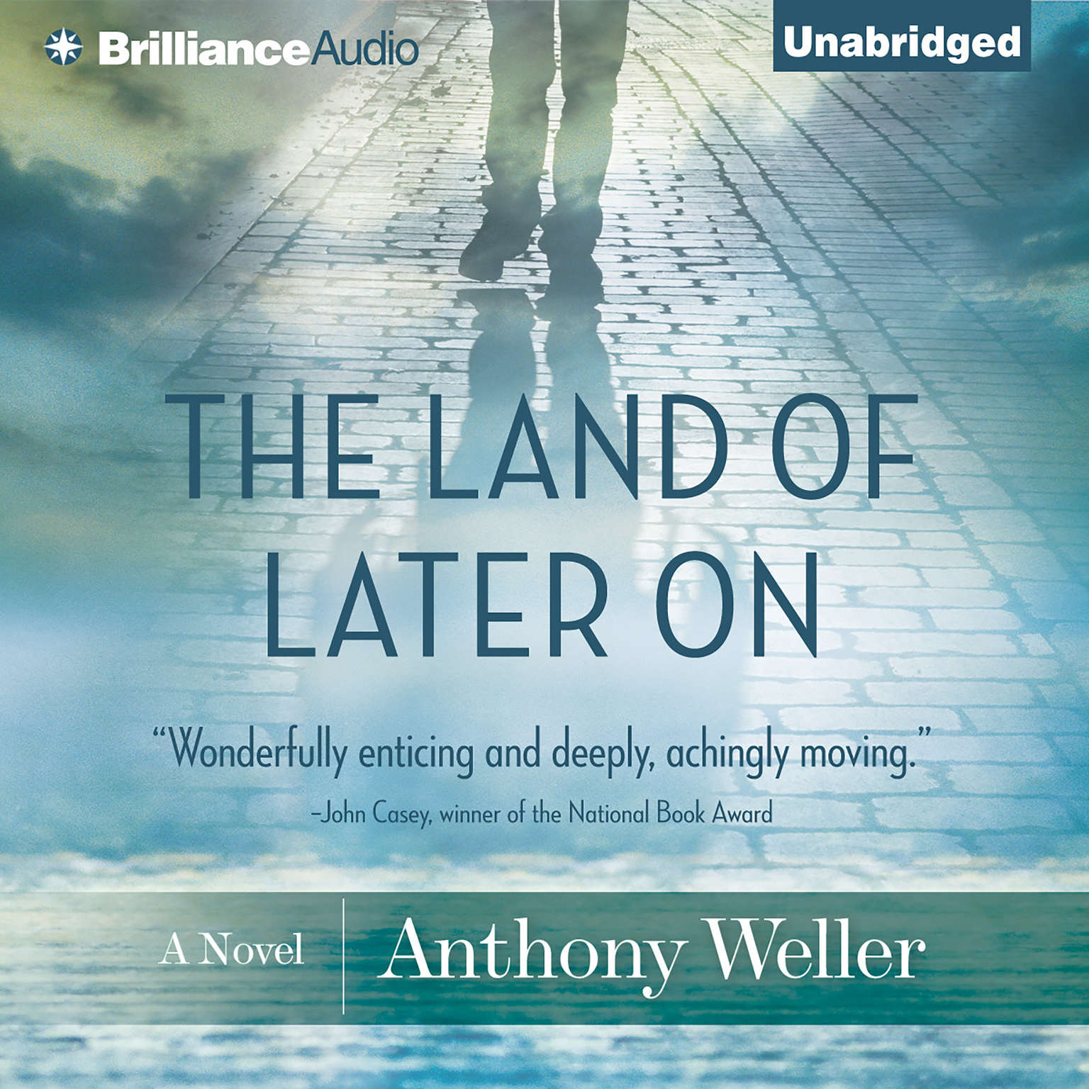 Printable The Land of Later On: A Novel Audiobook Cover Art