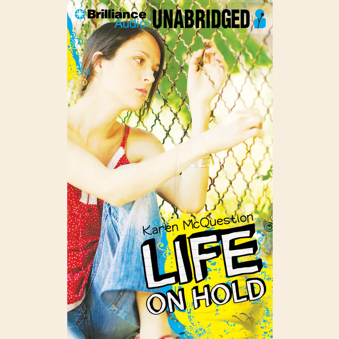 Printable Life on Hold Audiobook Cover Art